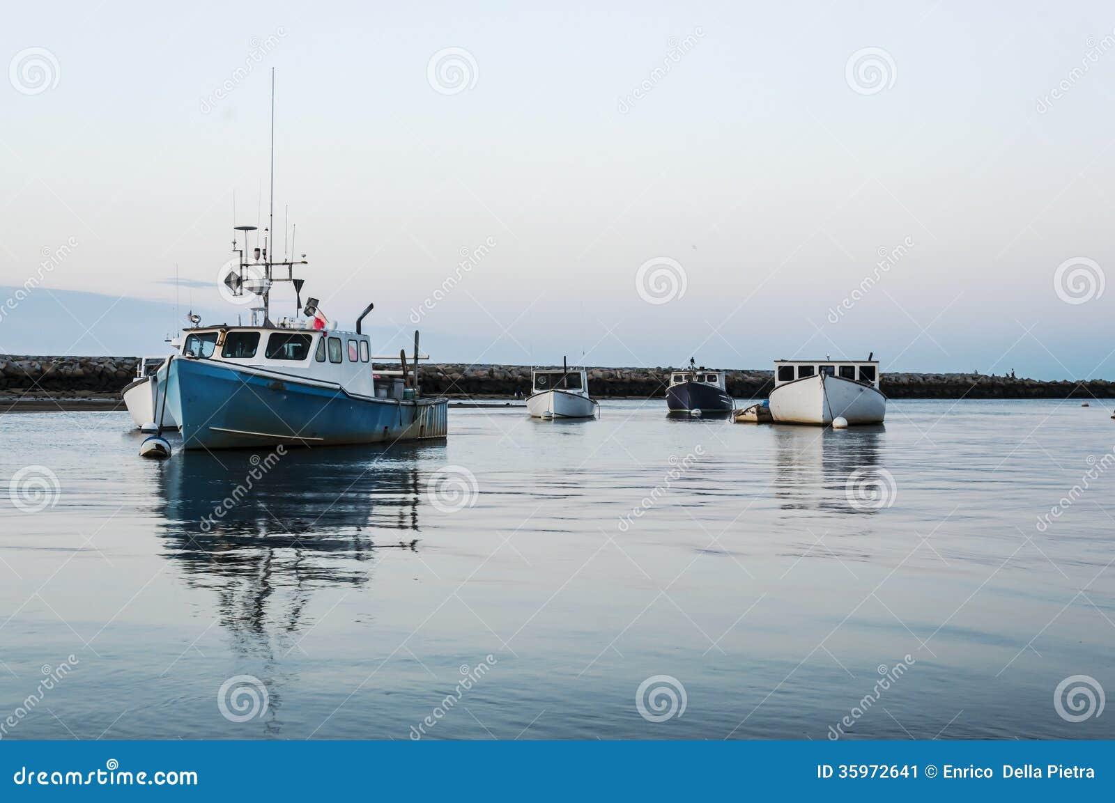 Los barcos de Maine