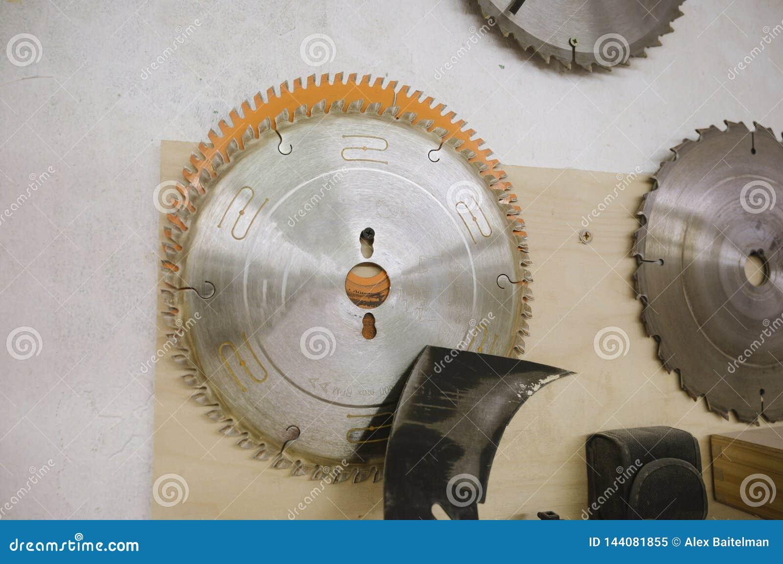 Los c?rculos para la circular consideraron en el taller