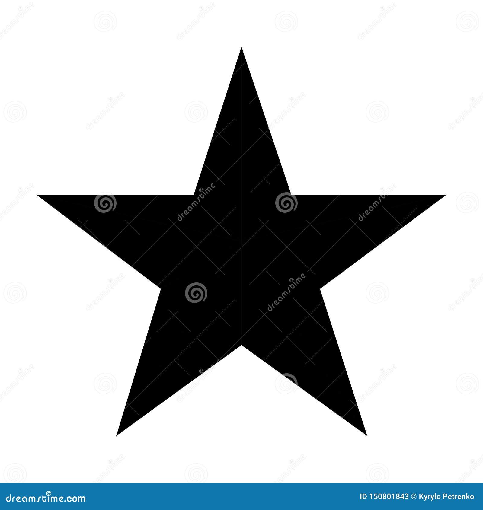 Los cinco puntos negros protagonizan en el fondo blanco