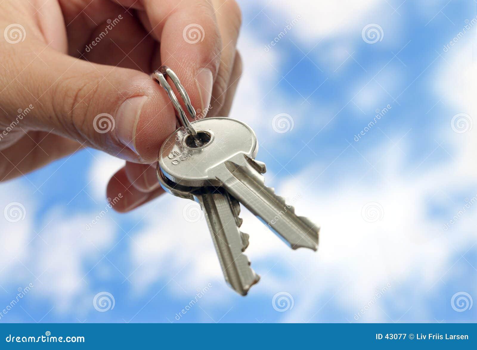 Download Los claves satisfacen imagen de archivo. Imagen de giving - 43077