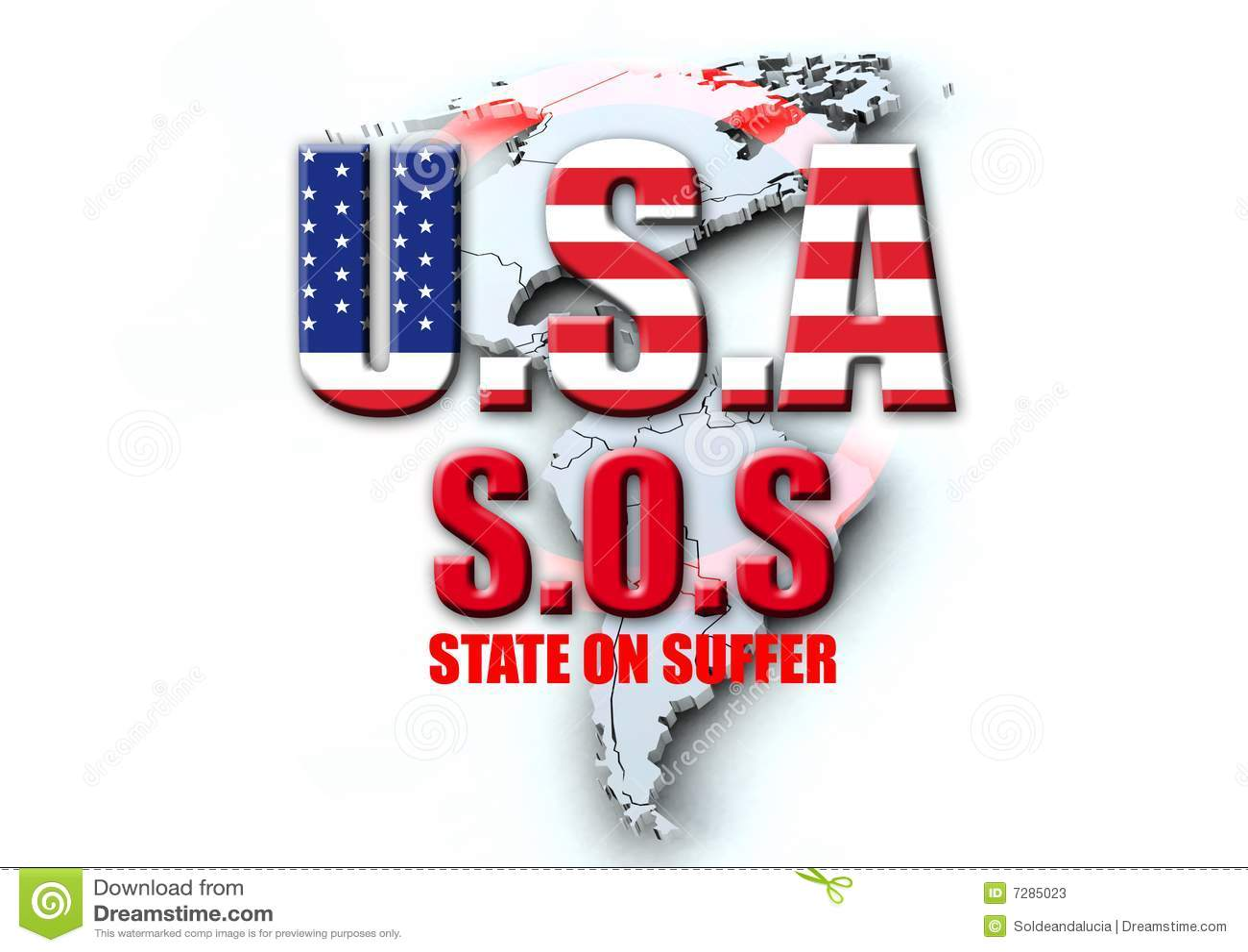 LOS E.E.U.U. SOS