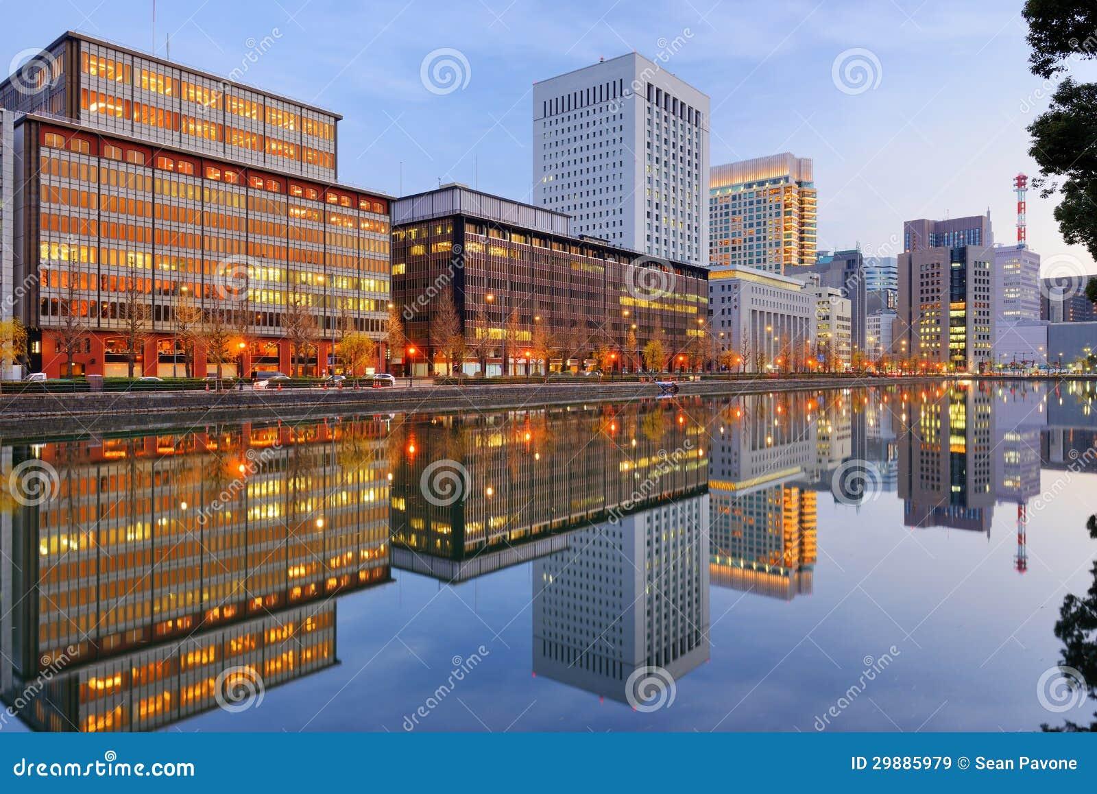 Distrito de Marunouchi de Tokio