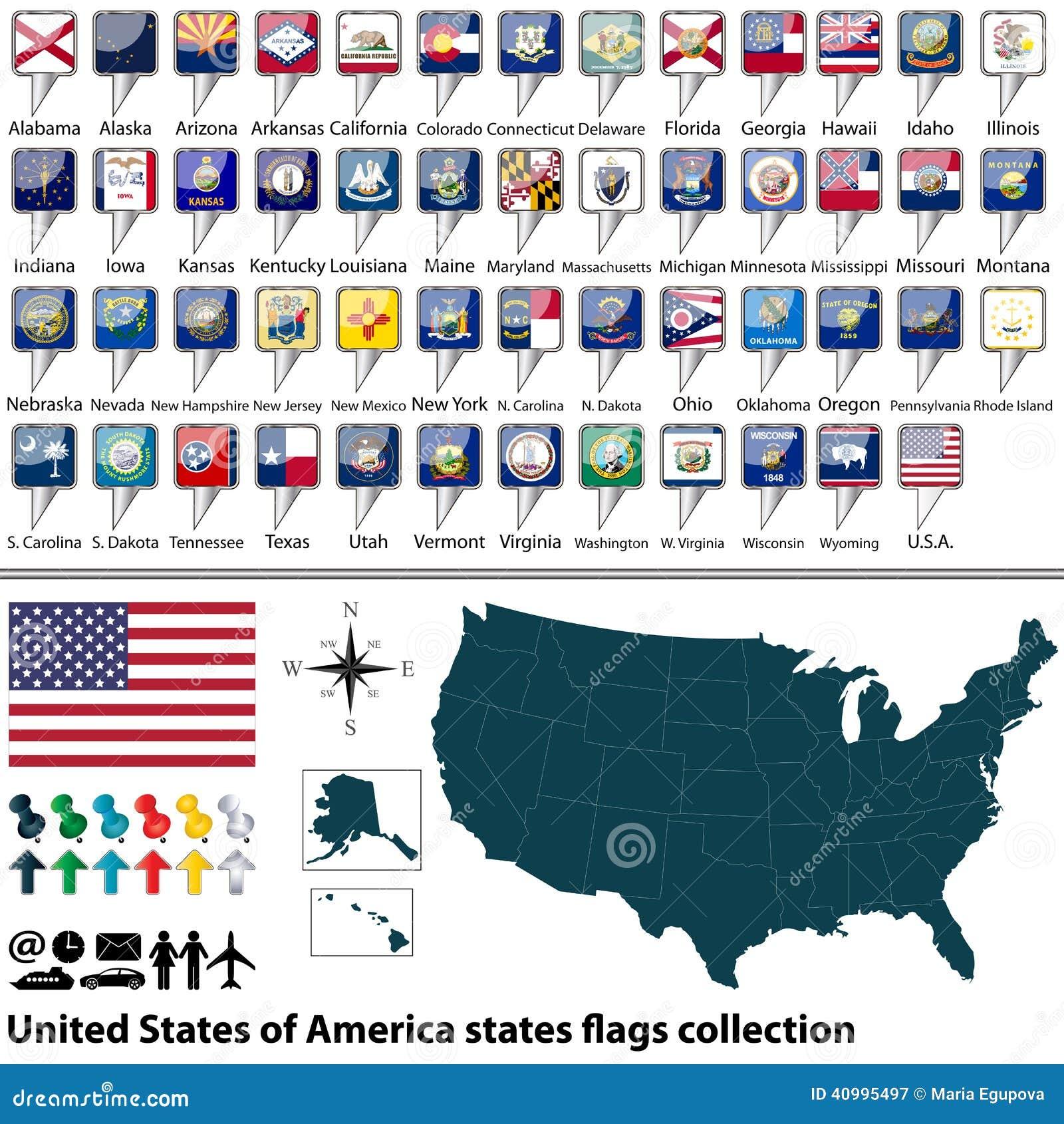 Excepcional Colorear Bandera De Estado De Kansas Colección - Dibujos ...