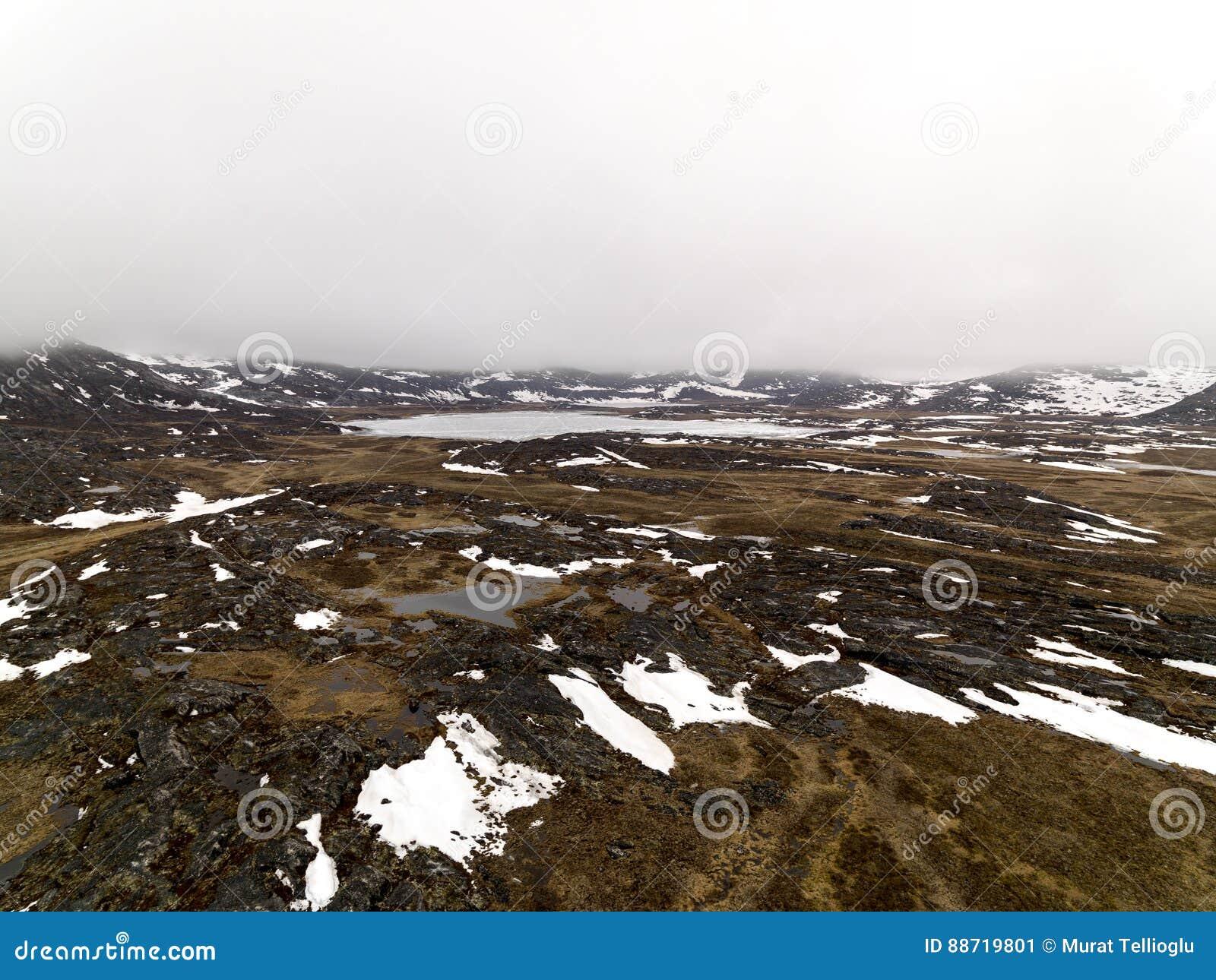 Los glaciares están derritiendo en el icefjord de la Groenlandia En mayo de 2016