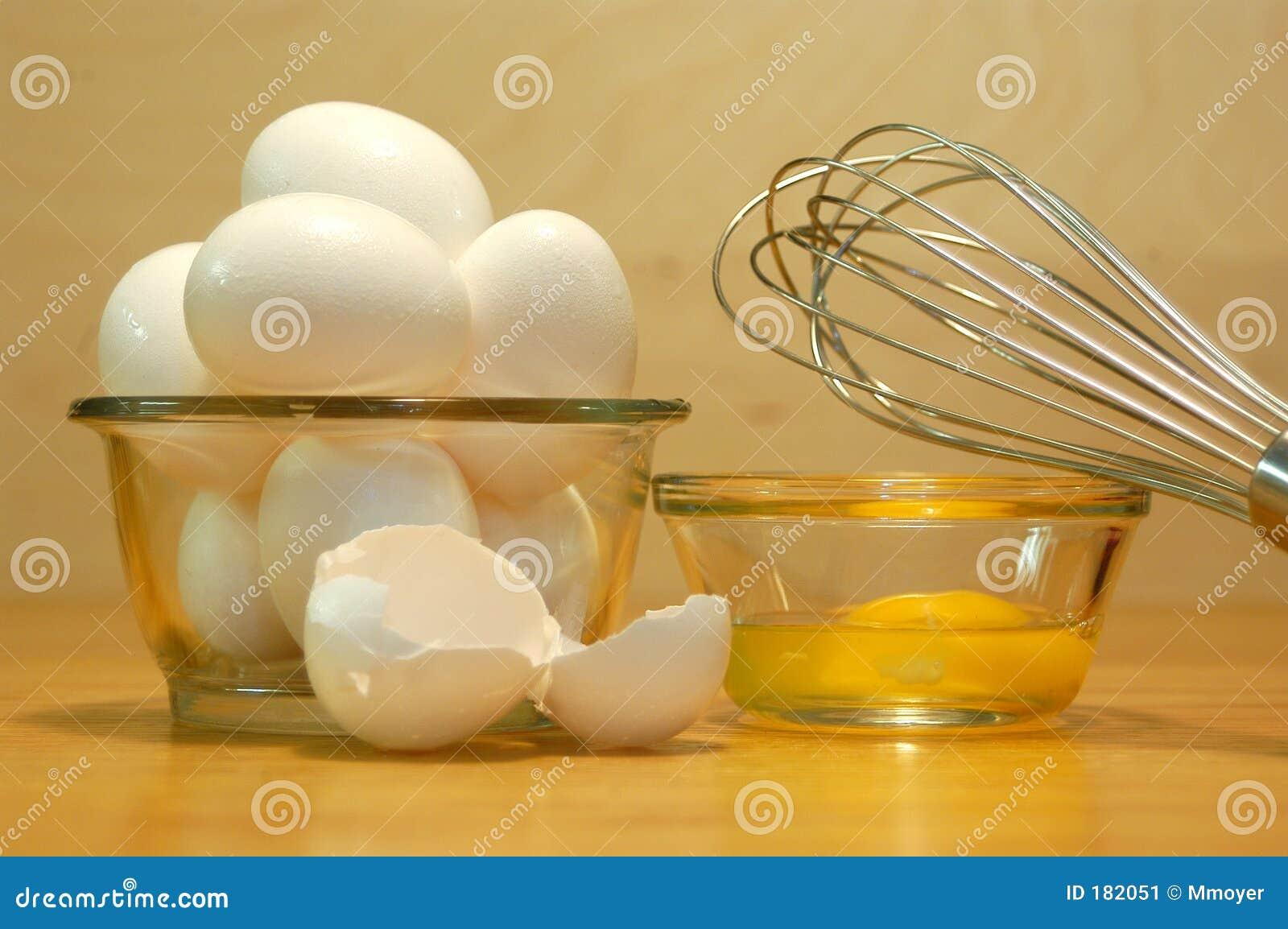 Los huevos y baten