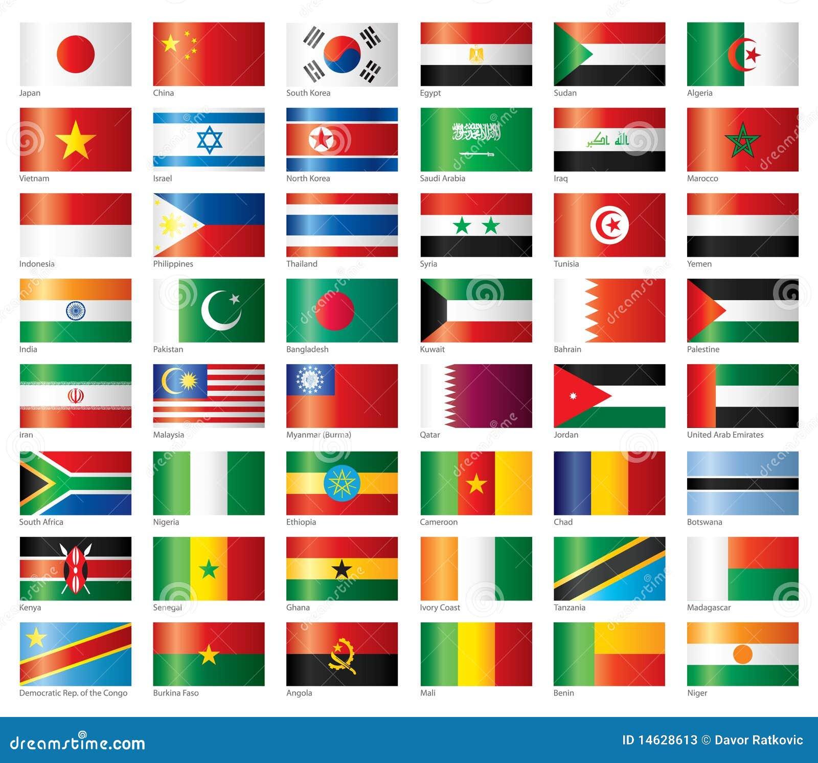 Los indicadores brillantes fijaron Asia y África