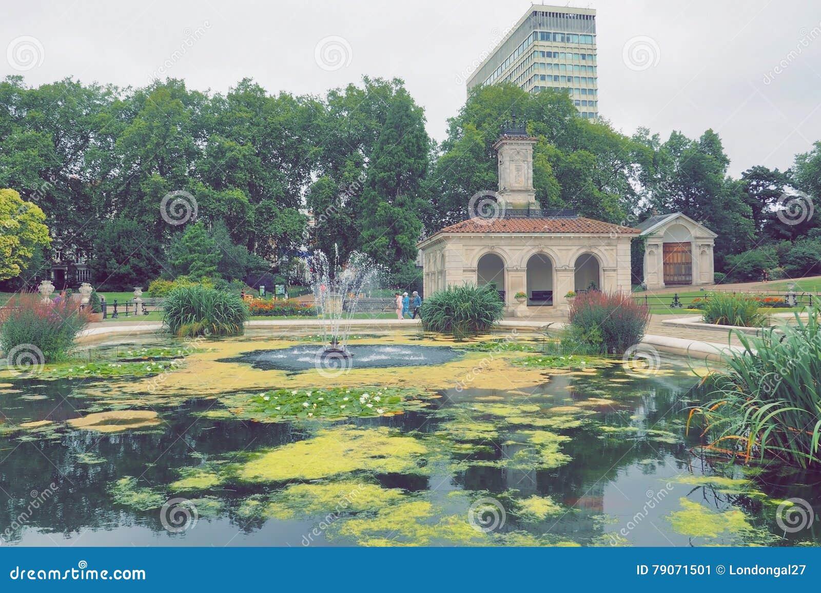 Los jardines italianos en hyde park londres imagen de for Jardines italianos