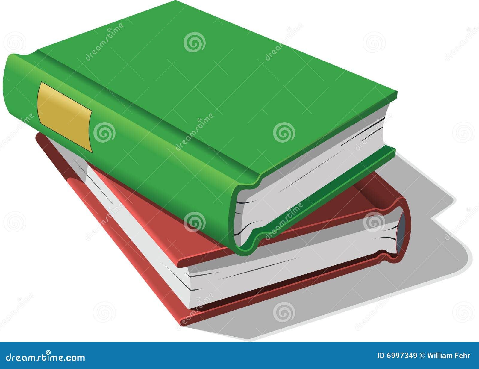 Los libros empilaron