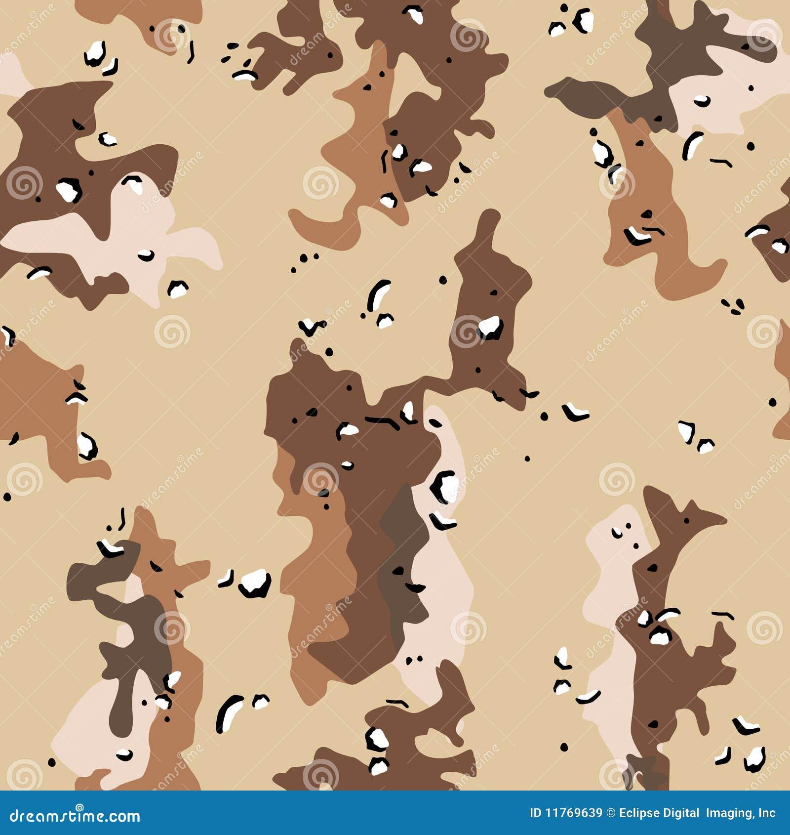 Los militares del desierto camuflan el modelo inconsútil