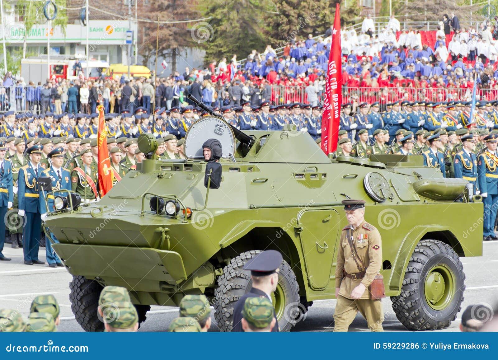 Download Los Militares Rusos Transportan En El Desfile En Victory Day Anual Foto editorial - Imagen de militar, símbolo: 59229286