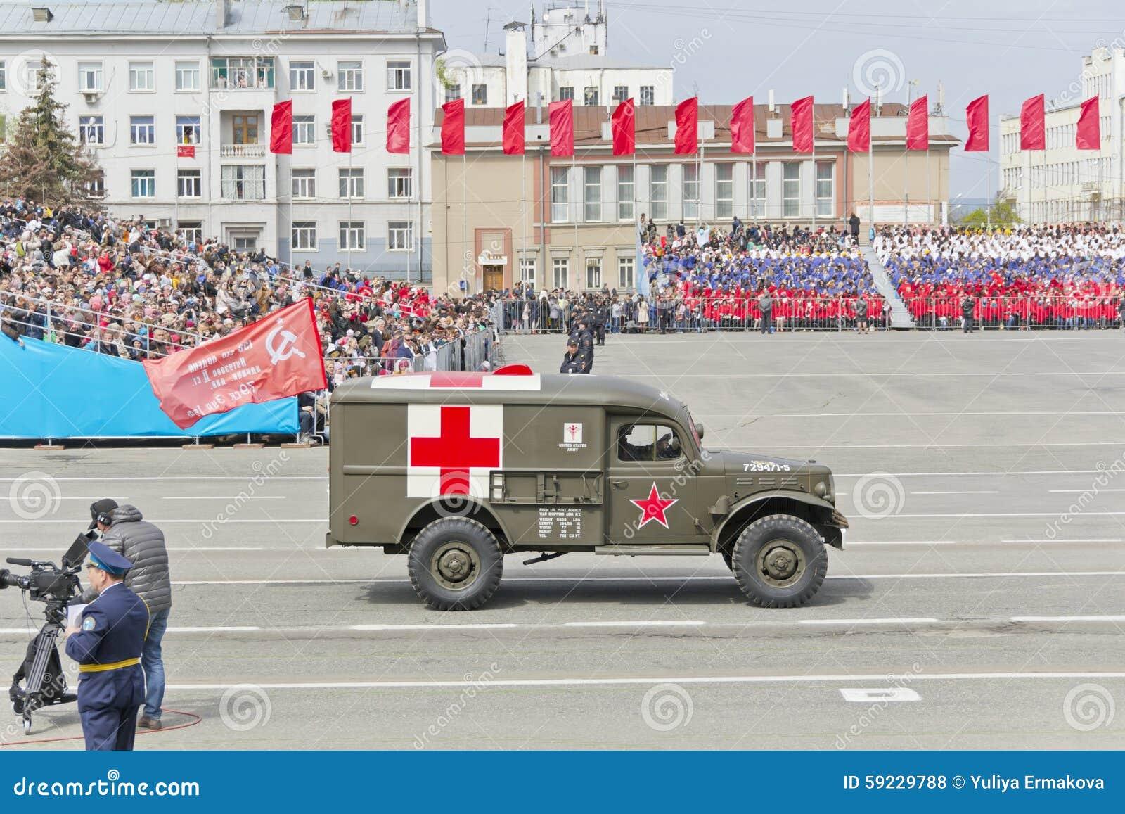 Download Los Militares Rusos Transportan En El Desfile En Victory Day Anual Foto de archivo editorial - Imagen de combatiente, militar: 59229788