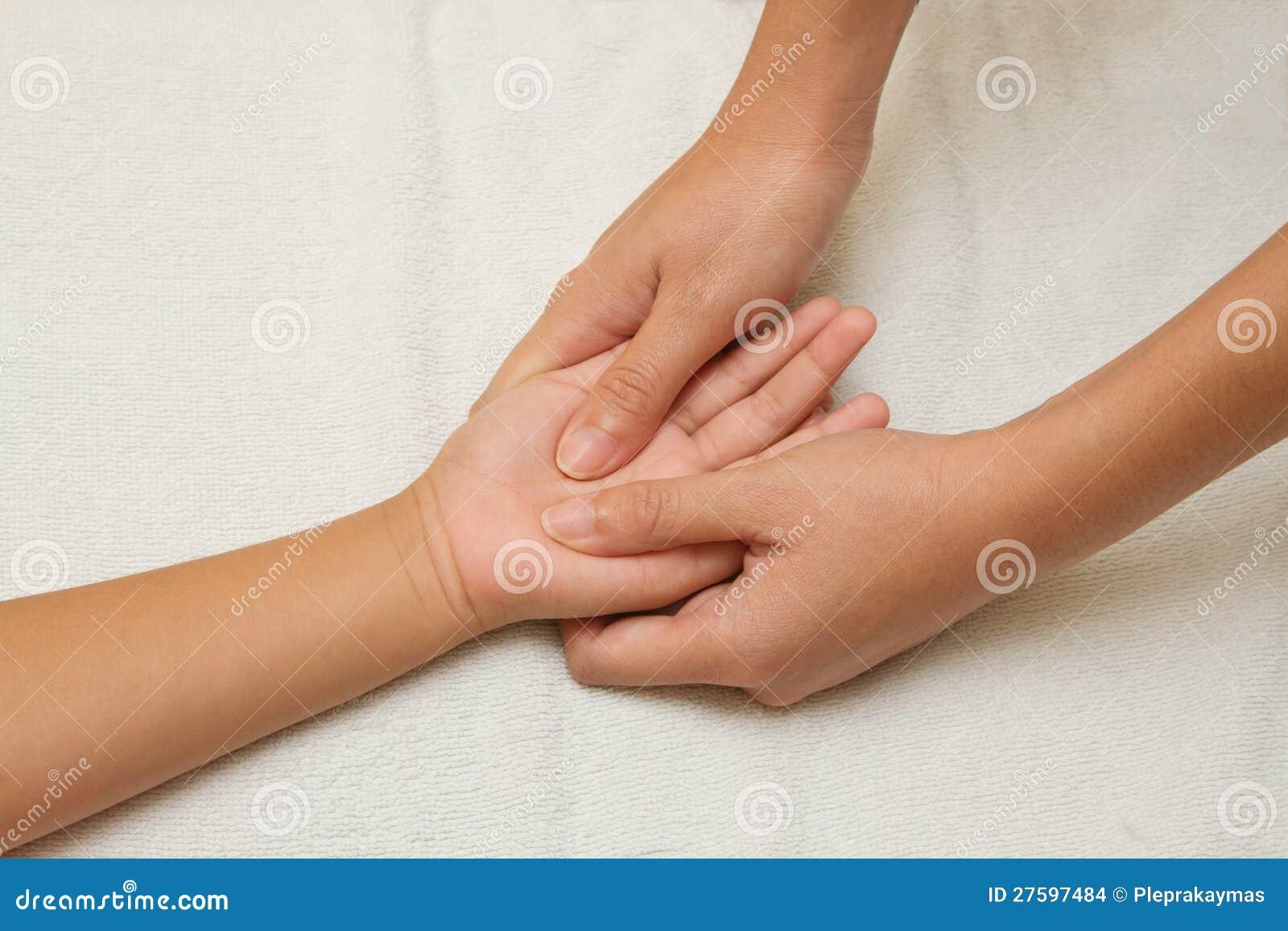 sitio masaje trabajo de mano