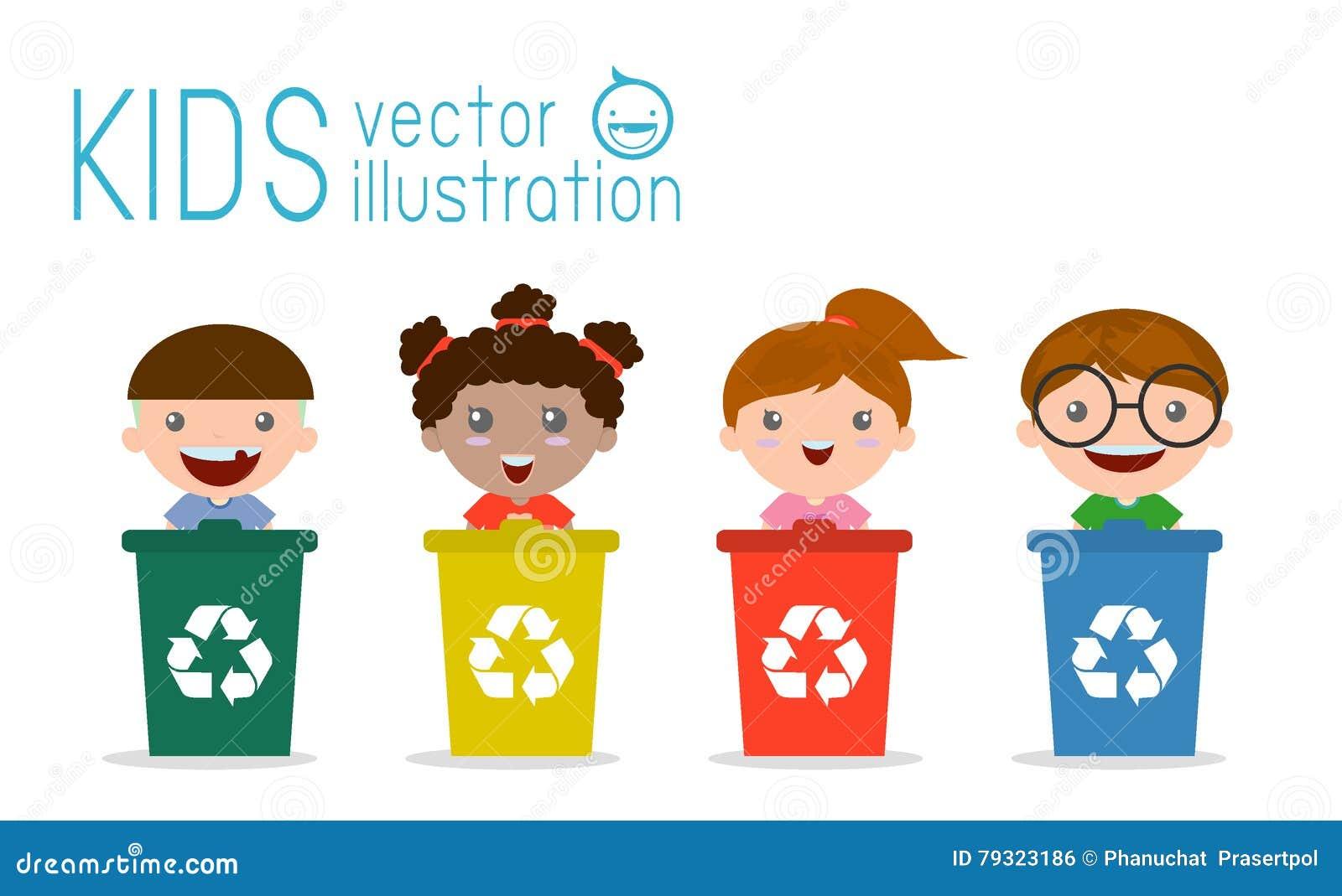 Los Niños Que Segregan La Basura, Reciclando Basura ...