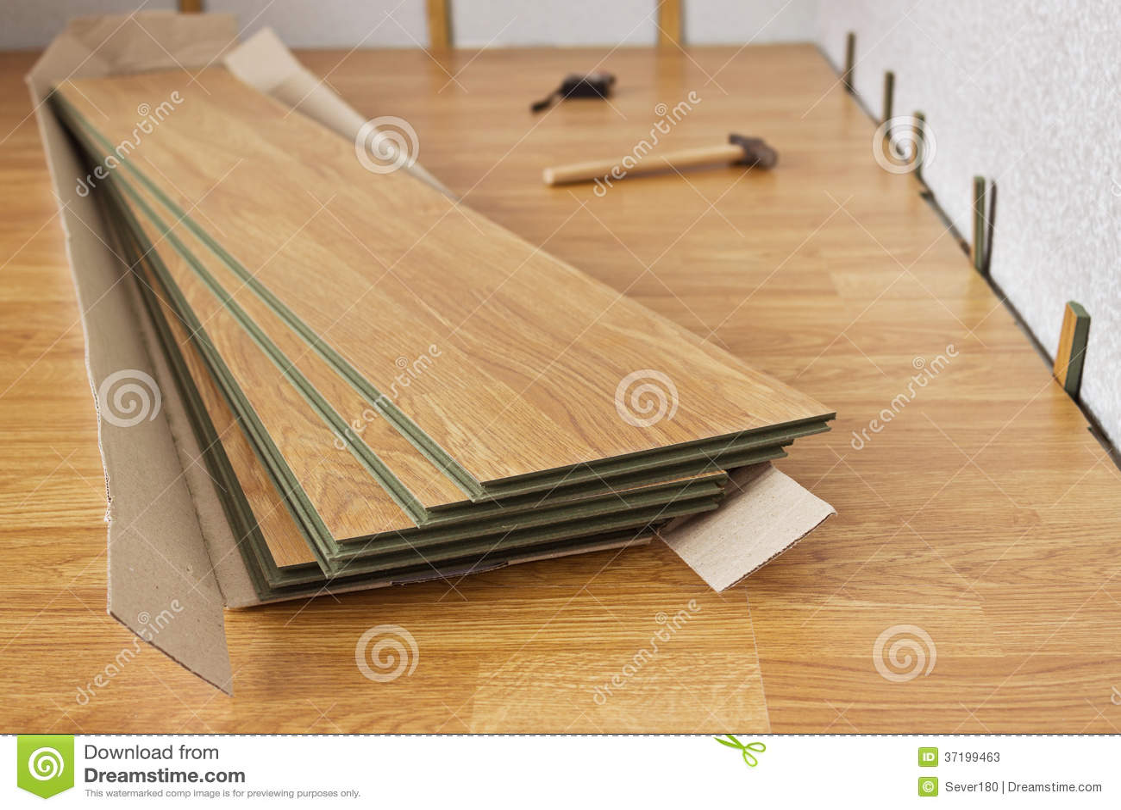 los paneles laminados el color de la madera imagen de archivo imagen 37199463. Black Bedroom Furniture Sets. Home Design Ideas