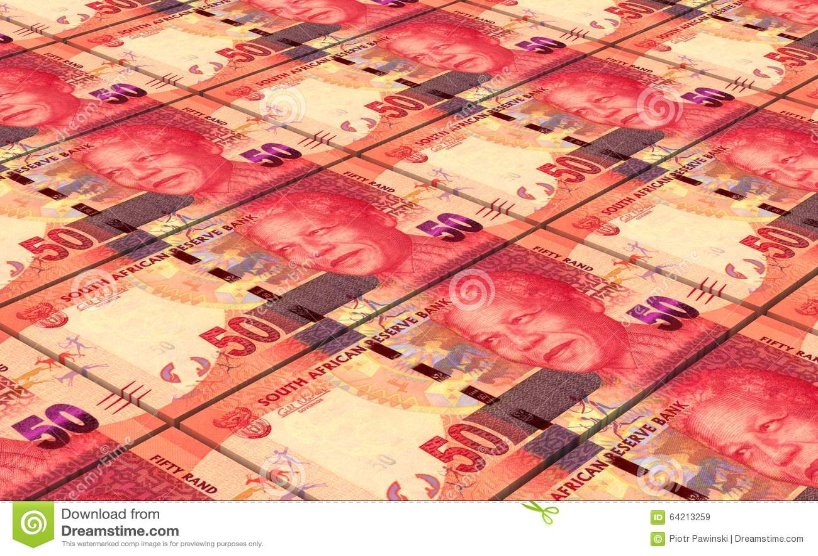 Los randes sudafricanos cargan en cuenta el fondo de las pilas