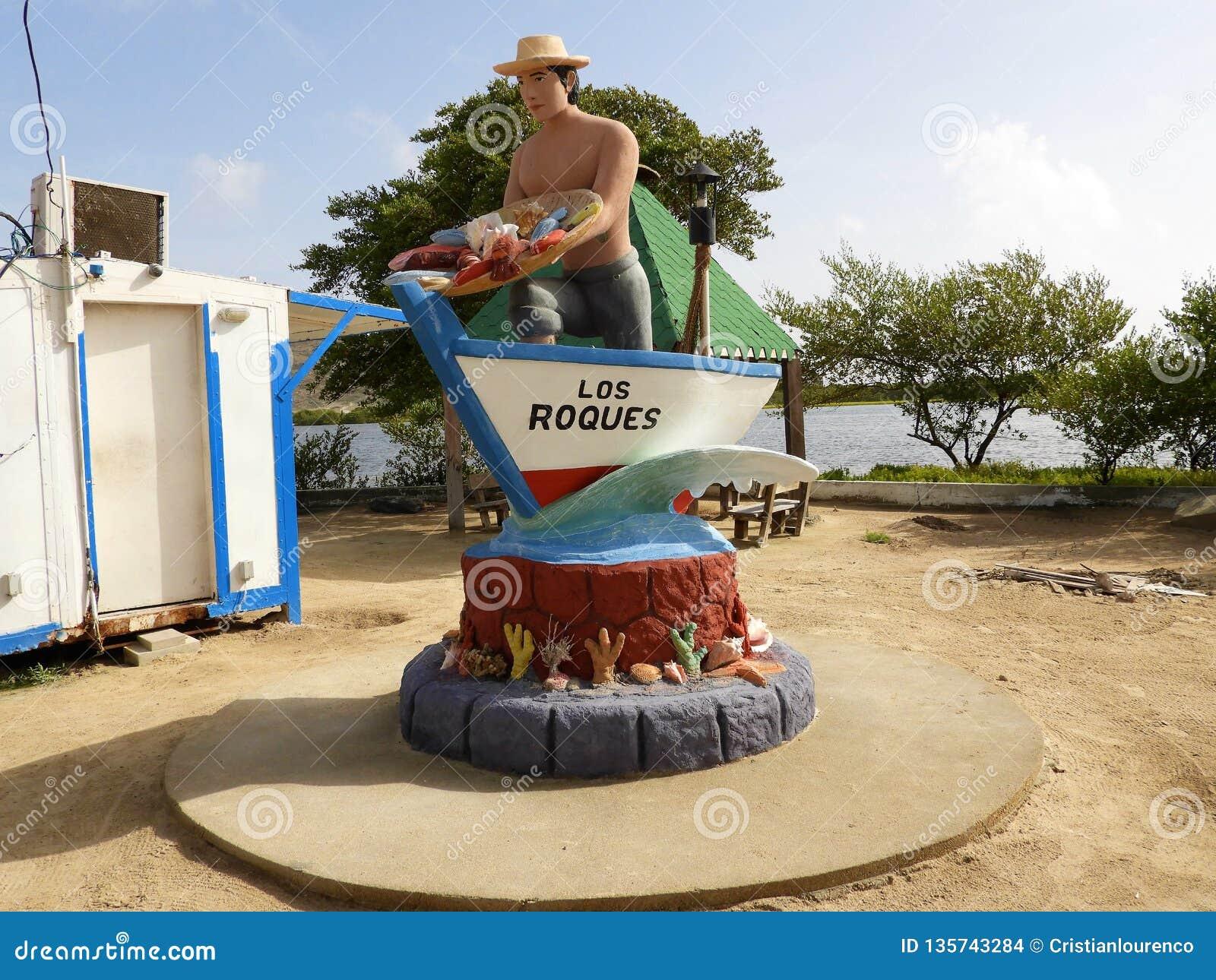 Los Roques wejście, morze karaibskie, Wenezuela