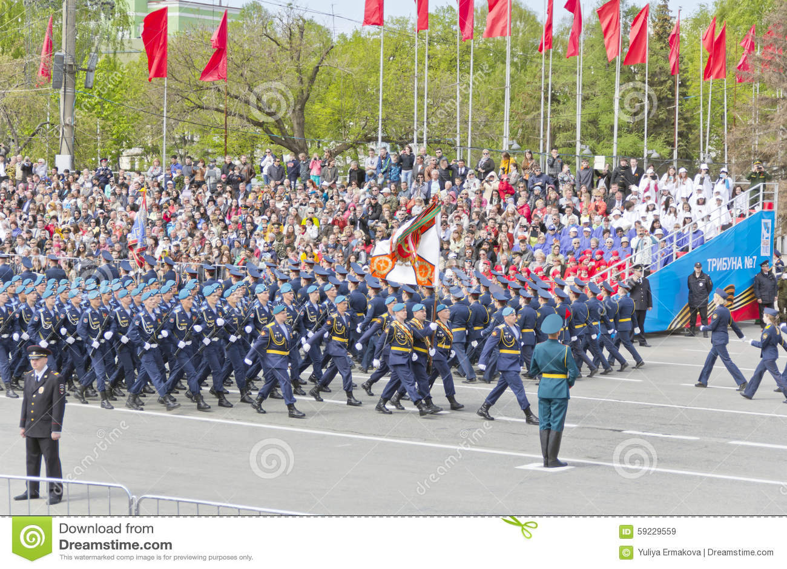 Download Los Soldados Rusos Marchan En El Desfile En Victory Day Anual Imagen de archivo editorial - Imagen de fila, héroes: 59229559