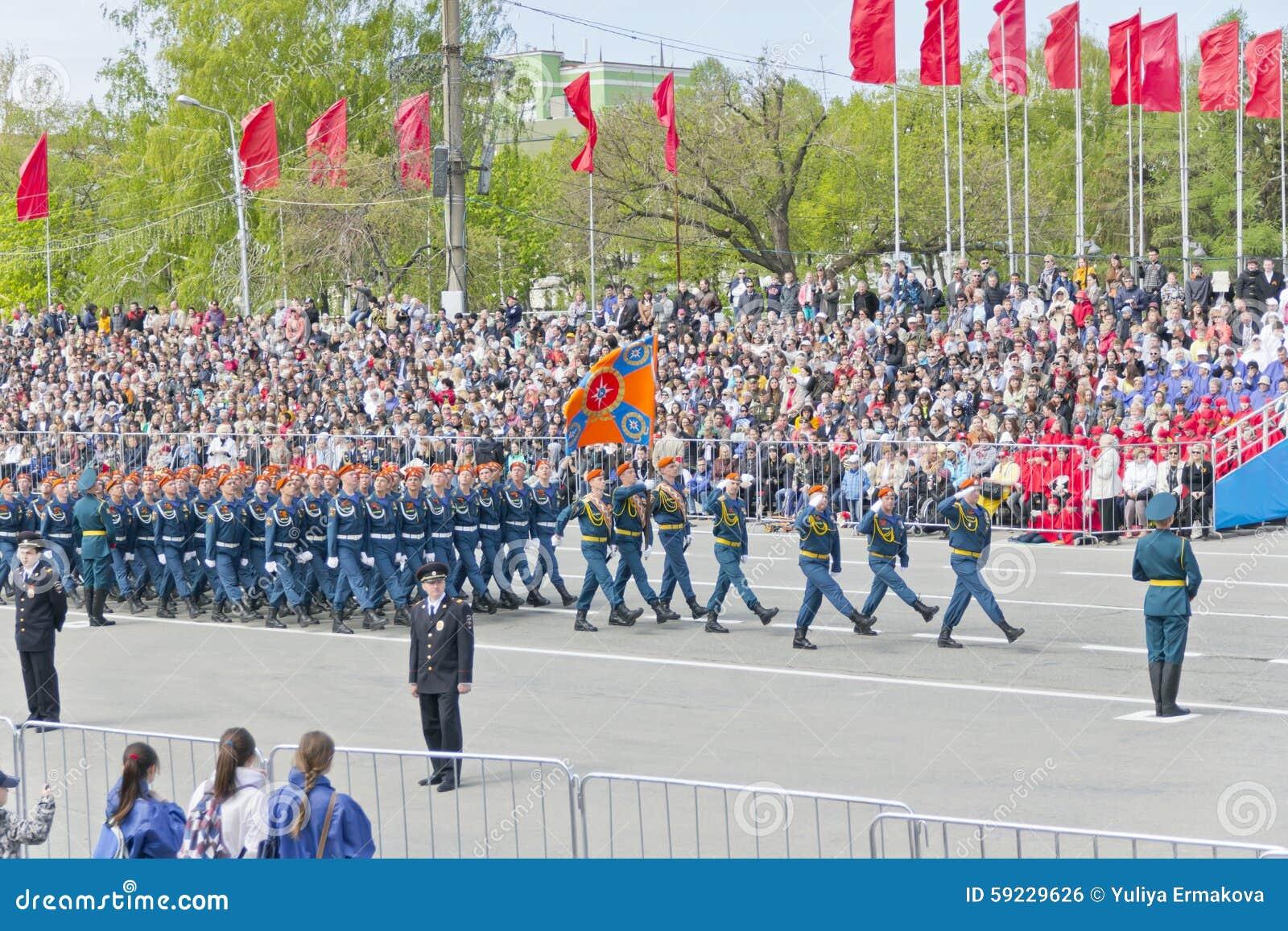 Download Los Soldados Rusos Marchan En El Desfile En Victory Day Anual Foto editorial - Imagen de marzo, marinero: 59229626