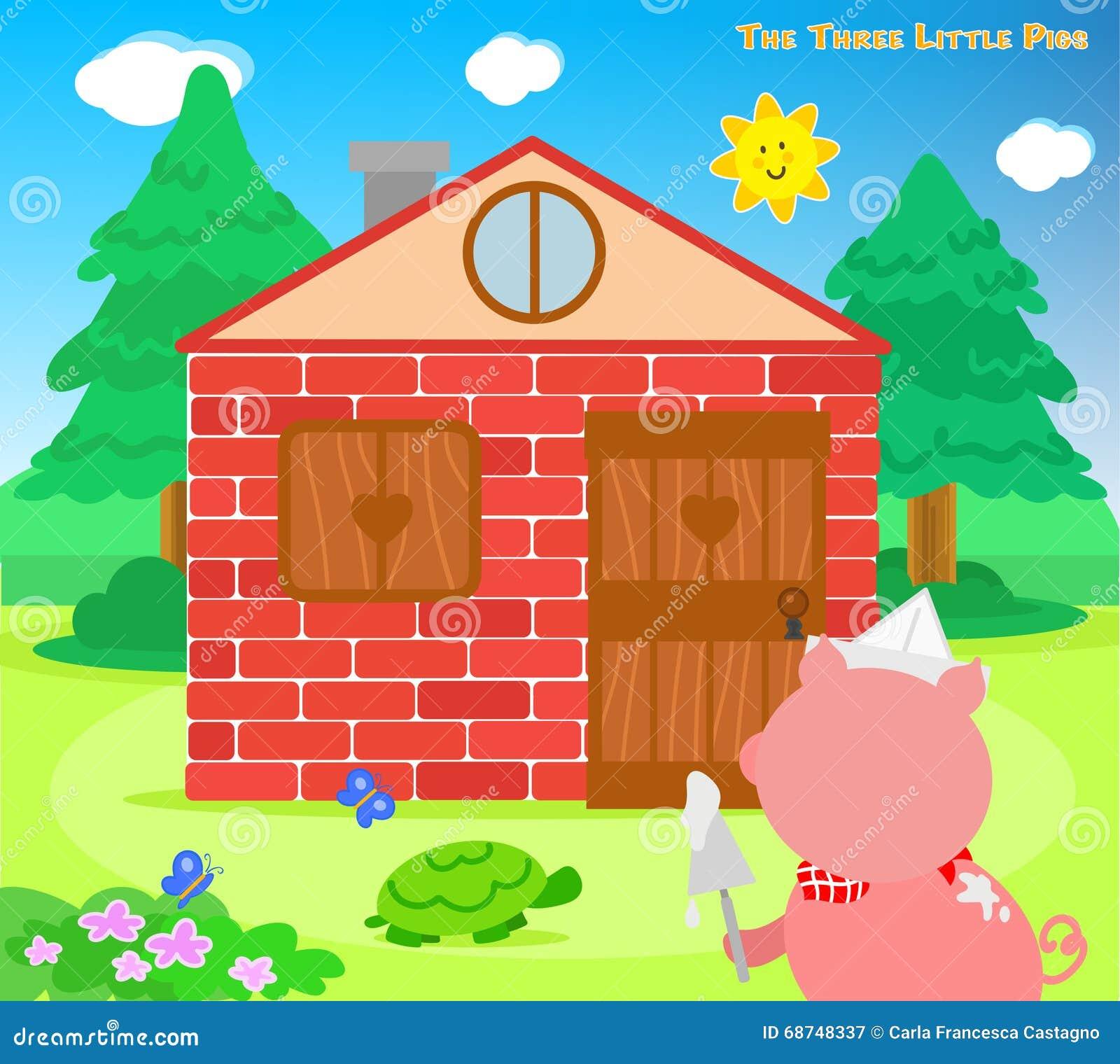 Los Tres Pequeños Cerdos 8: Los Ladrillos Contienen Acabado ...