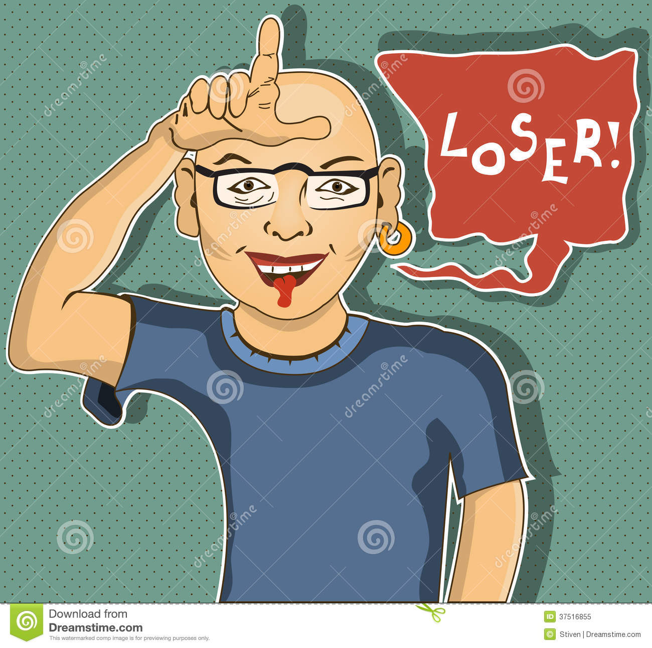 Loser Royalty Free Stock Photo Image 37516855
