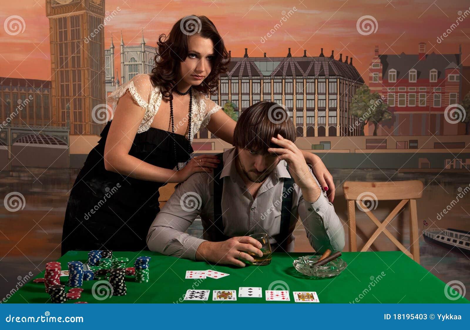 Проиграл свою жену в покер 1 фотография