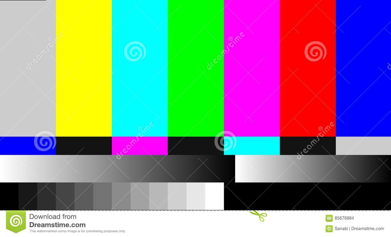 Loss Of Communication Disappearance Image Torn Network TV Stock