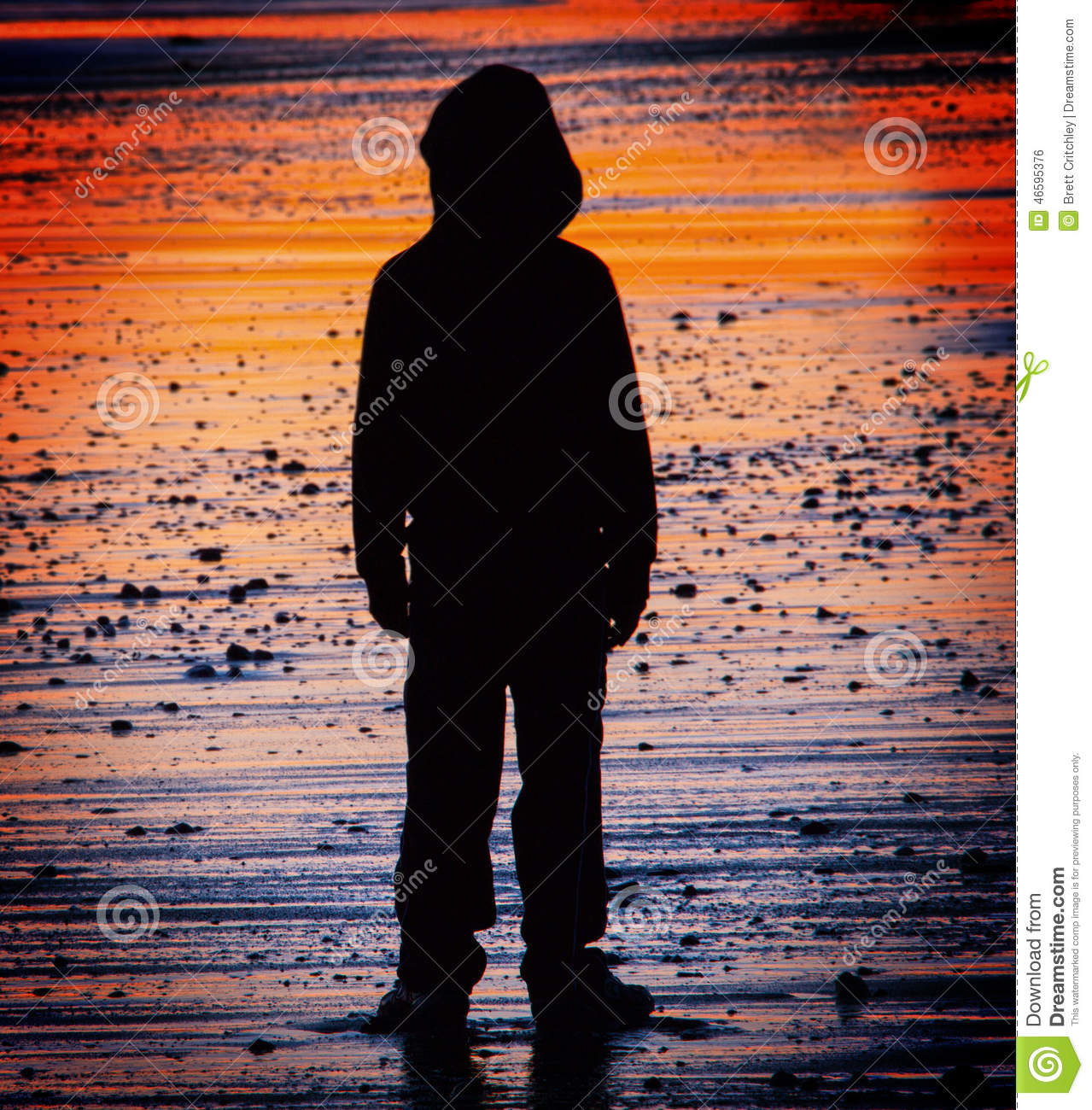 Lost and alone child