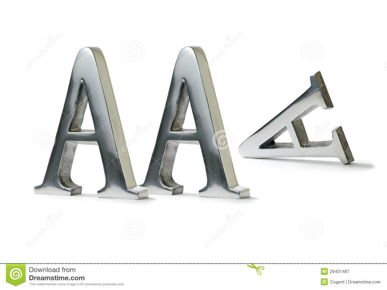 Lost Triple A Rating Stock Image Image Of Concept Failure 29401487