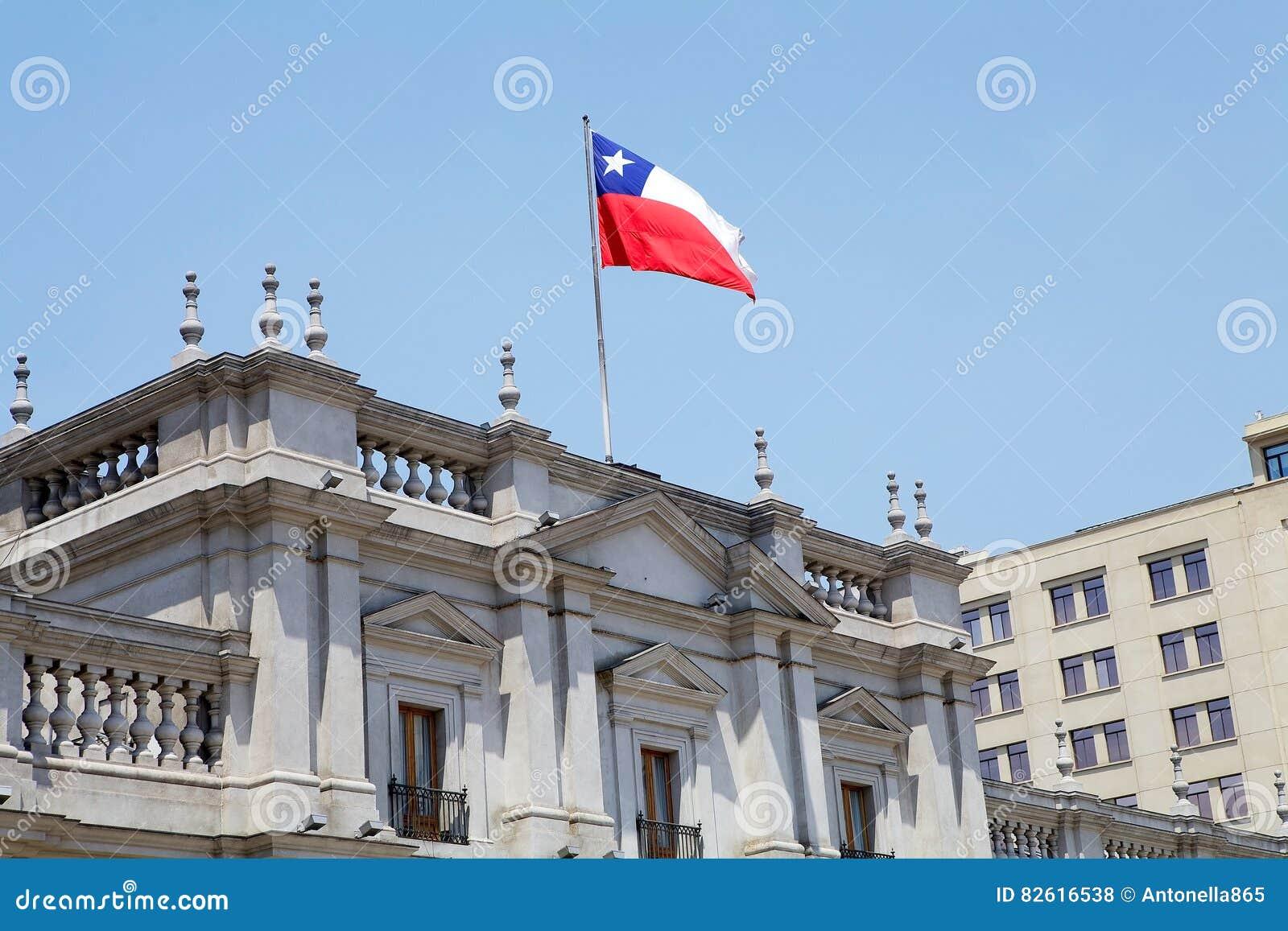 Losu Angeles Moneda pałac, Santiago de Chile, Chile