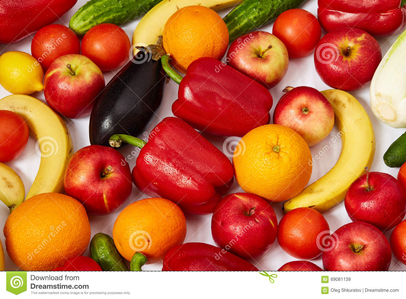 A lot of beautiful fruit and vegetables stock image for Beautiful vegetables