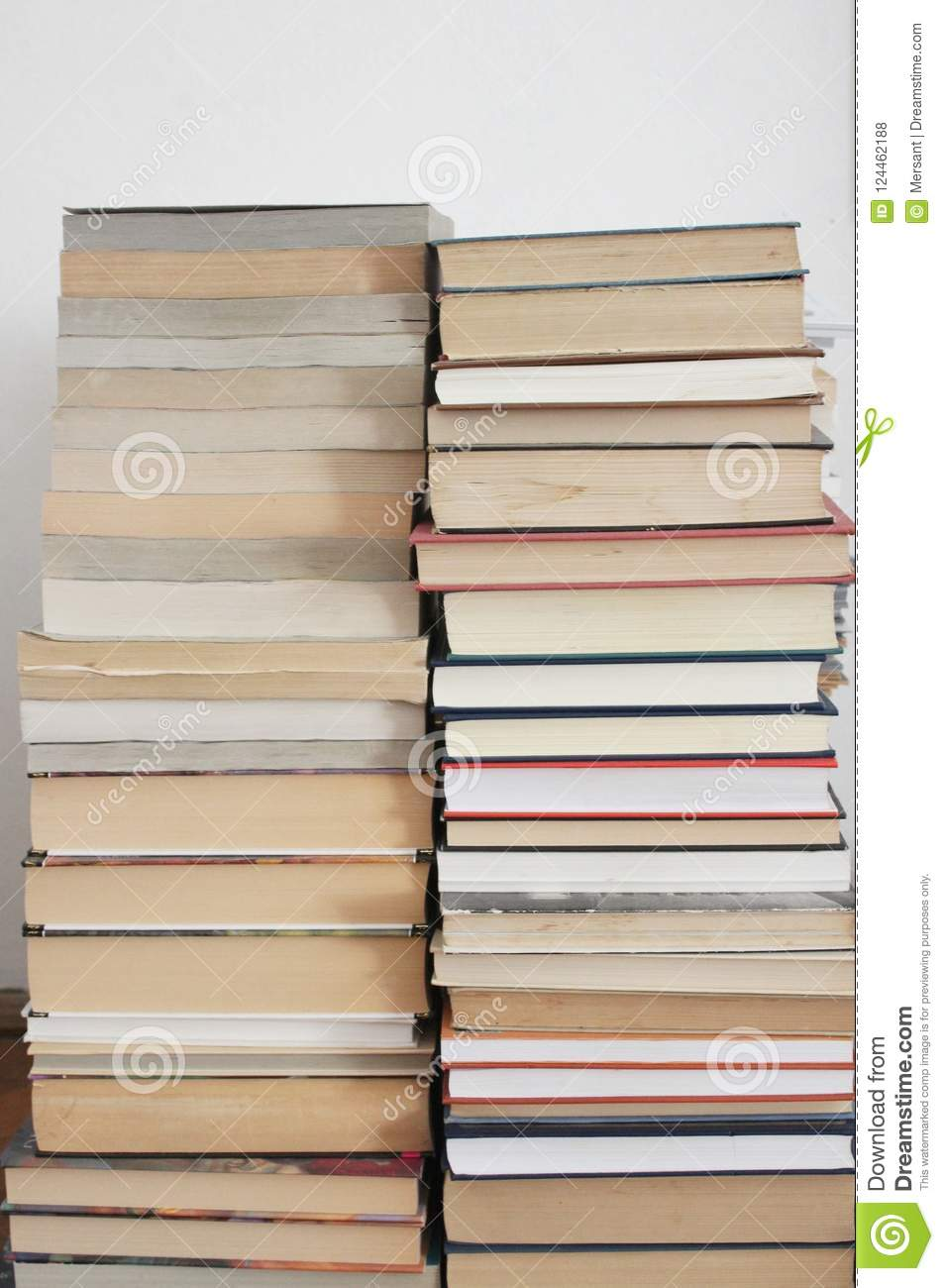 A lot of books
