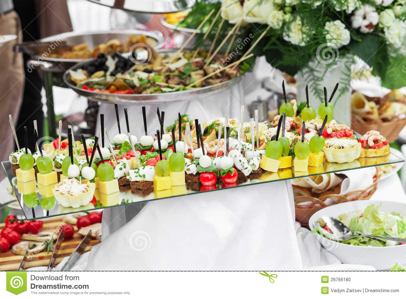 Lot of canape