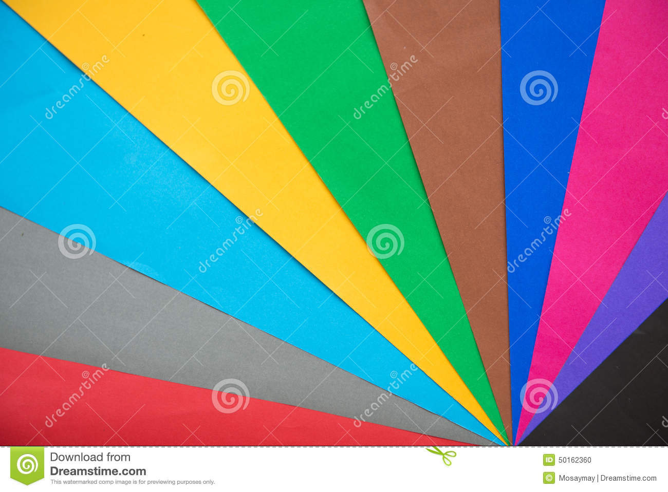 Lot of color paper for crafts idea stock photo image for Colour paper craft