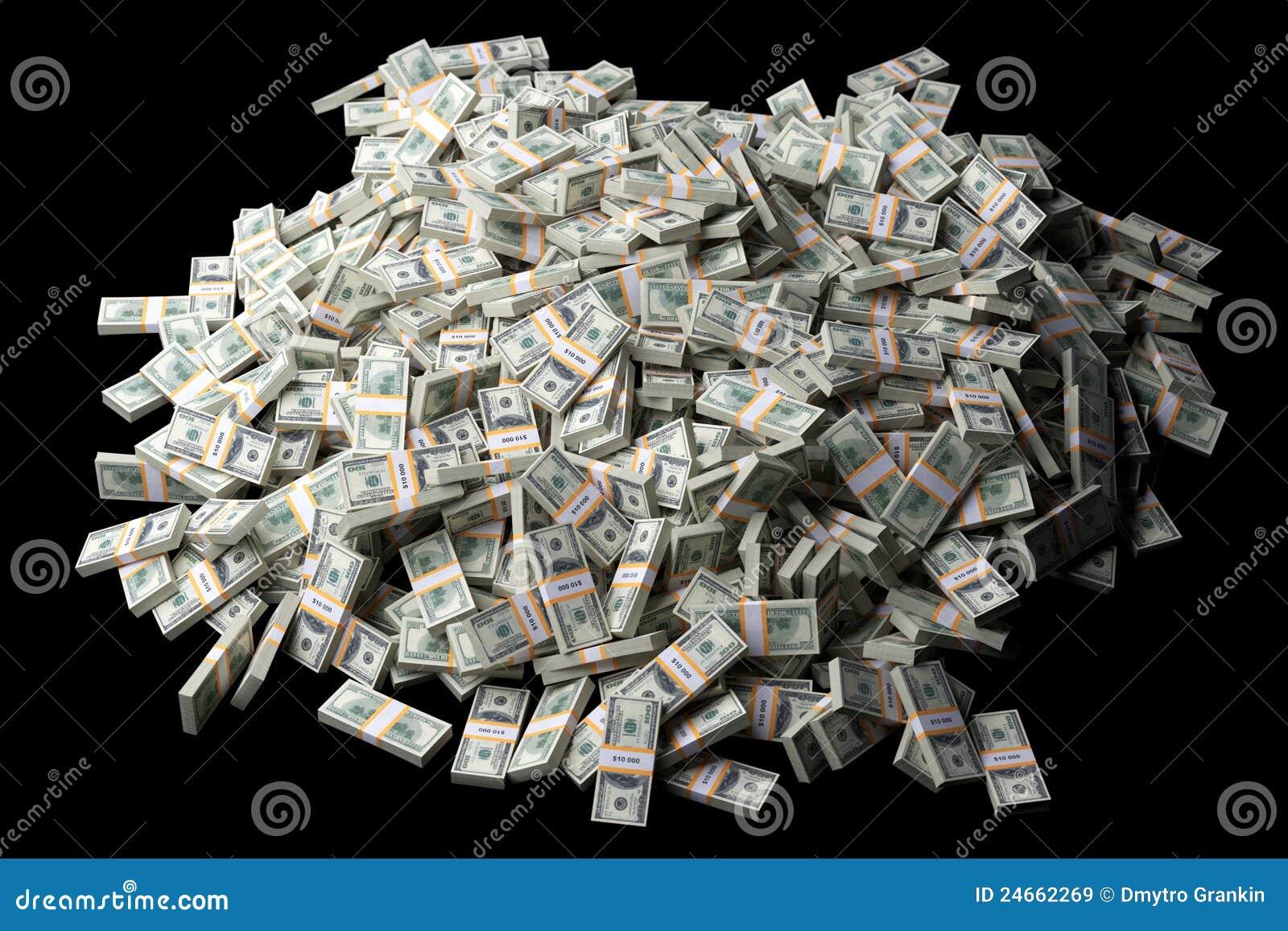 a lot of dollar bills stock illustration illustration of