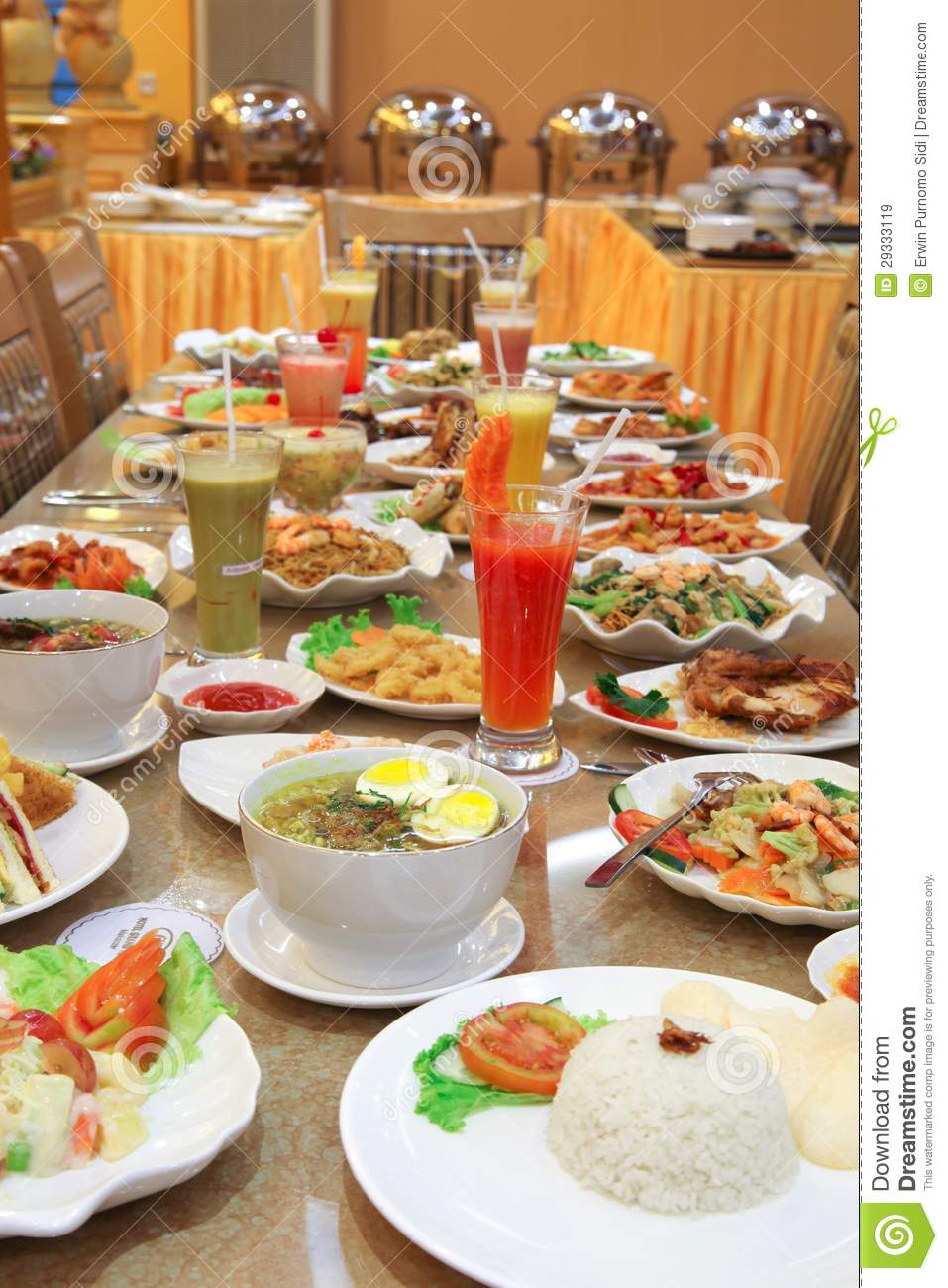 A lot of food on the table royalty free stock images for Table snack cuisine