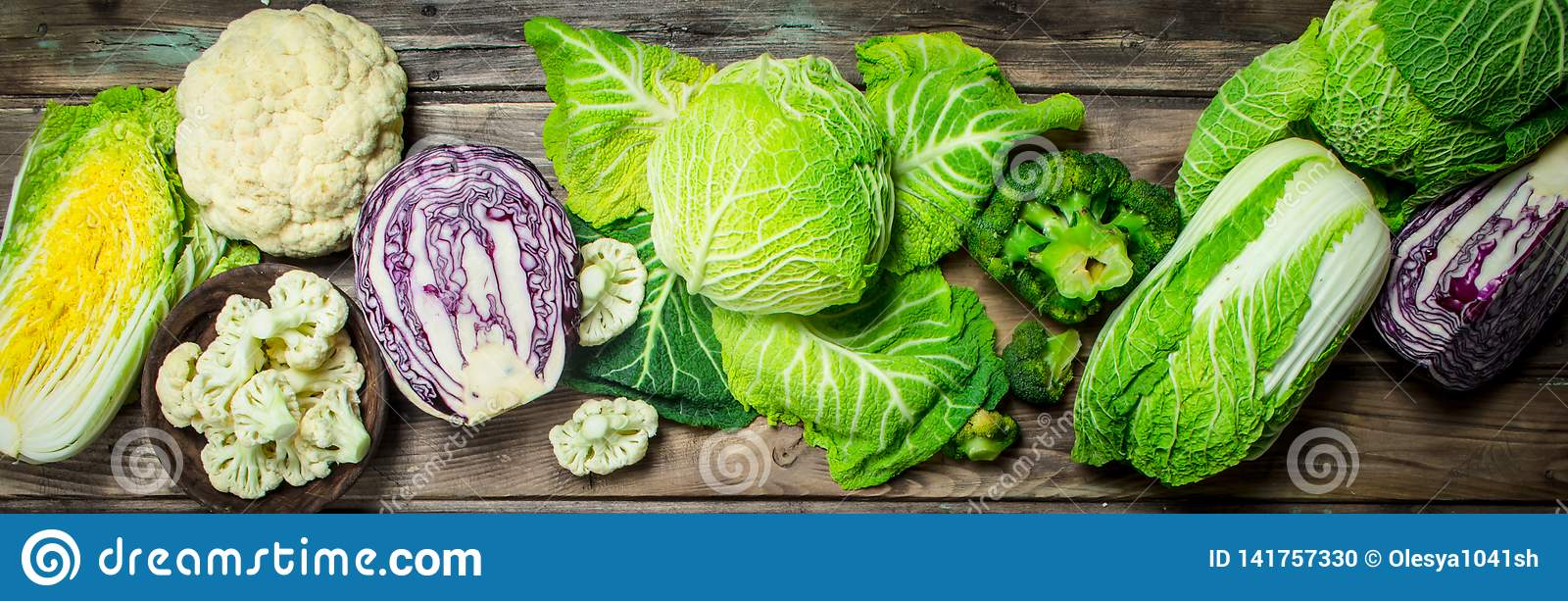 Lot of fresh juicy cabbage