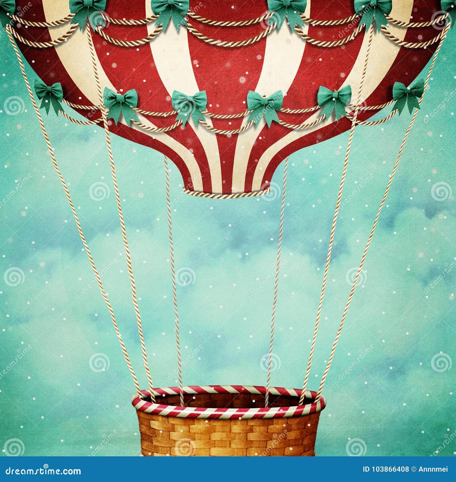 Lotniczego balonu boże narodzenia