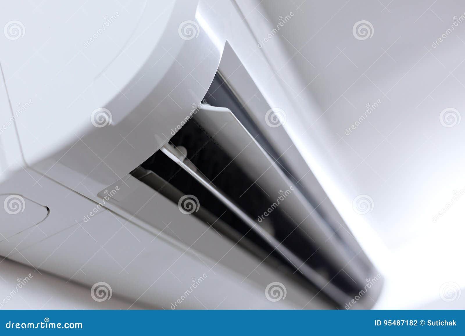 Lotniczego conditioner ilustracyjny rozszczepiony system