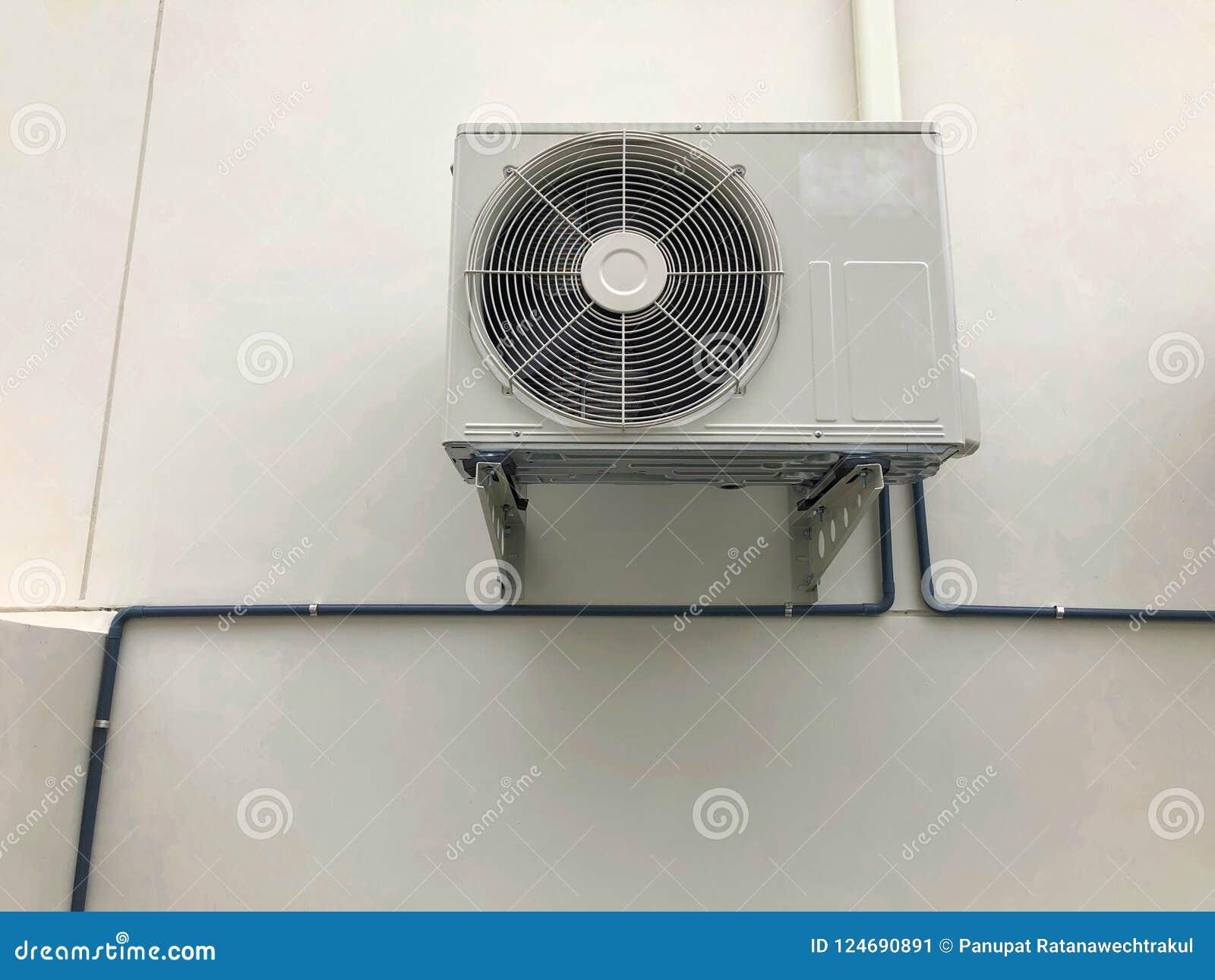 Lotniczego conditioner plenerowa jednostka, upał pompy kompresor lub Kondensatorowy fan dla poparcia powietrza Conditioner w domu