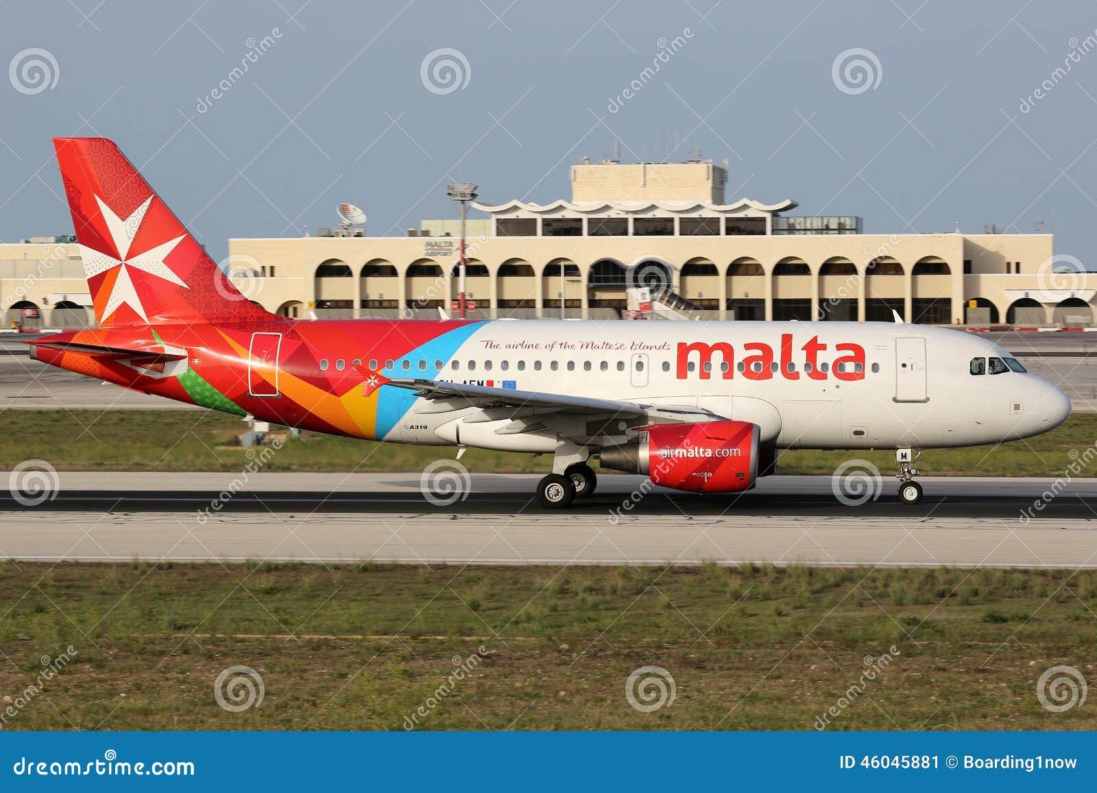 Lotniczy Malta Aerobus A319