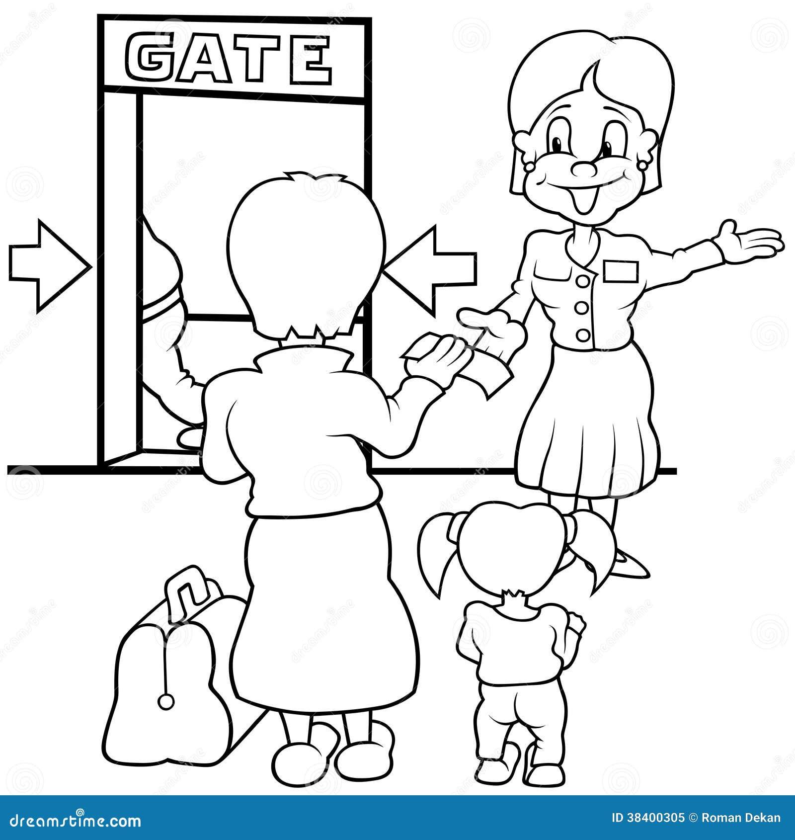 Lotniskowa brama