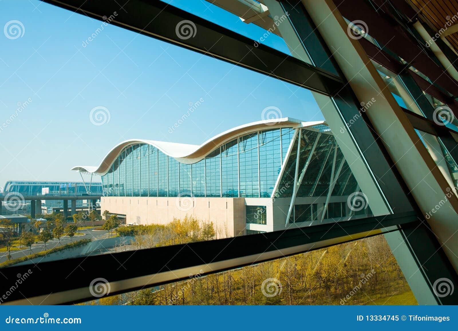 Lotniskowy międzynarodowy pudong Shanghai