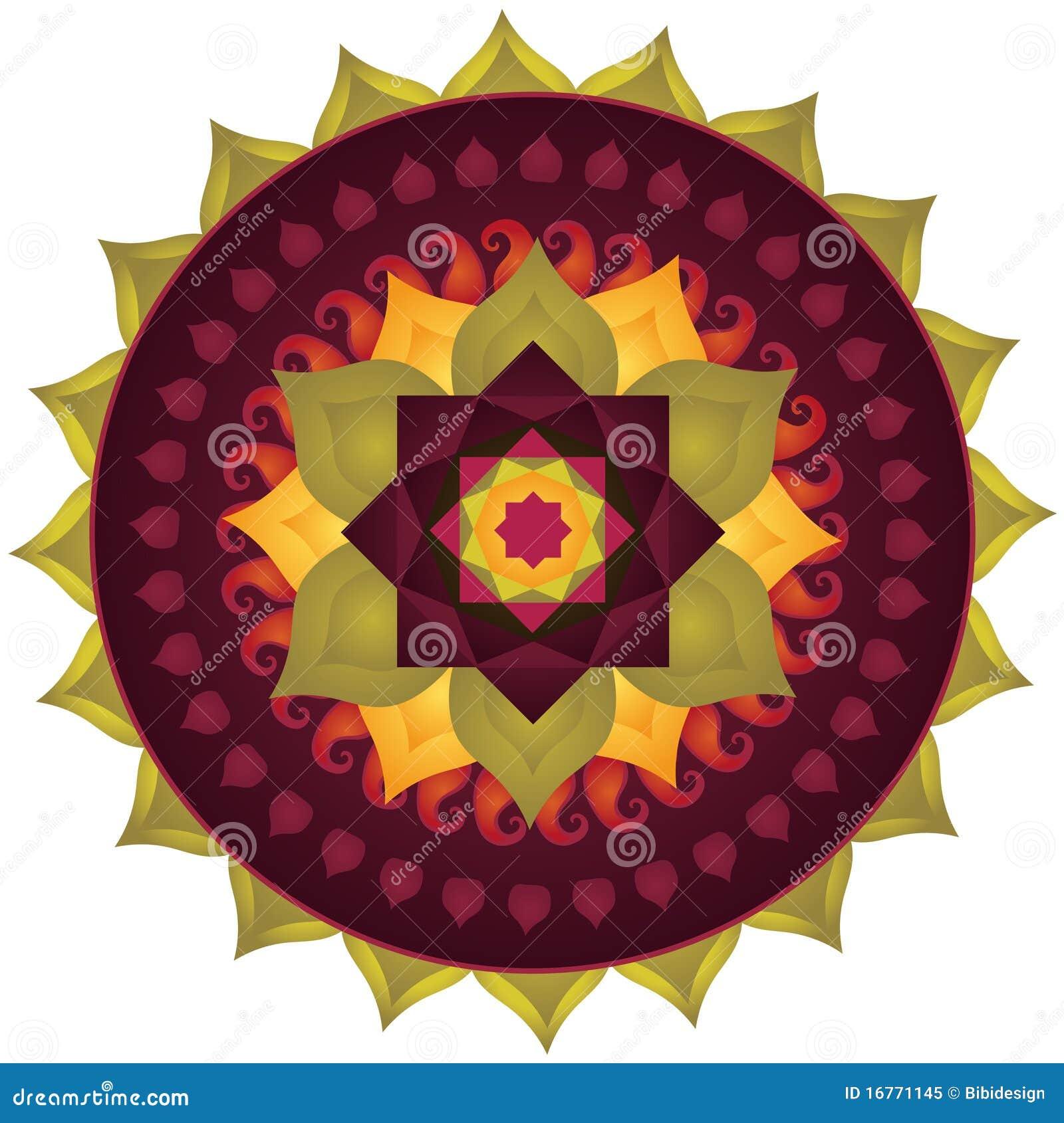 Lotos-Mandala