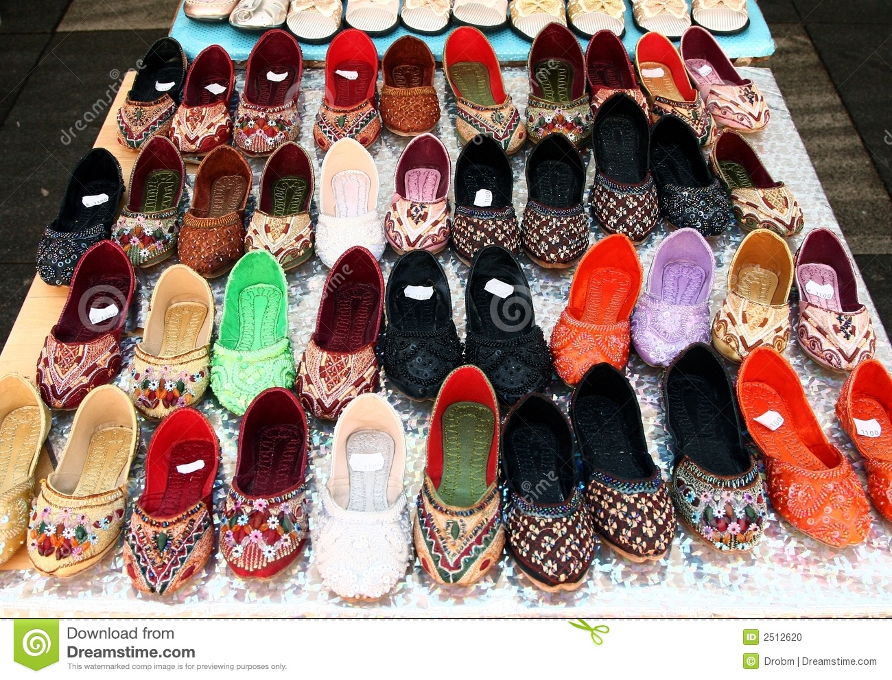 Lots Of Asian Shoes Stock Photo Image Of Shoe Store