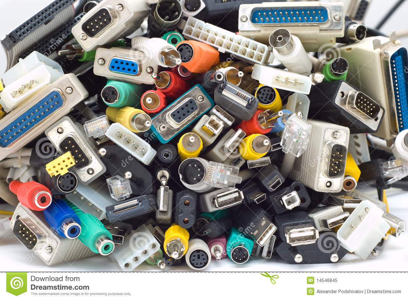 lots of cords stock image image of coloured cord connector 14546845. Black Bedroom Furniture Sets. Home Design Ideas