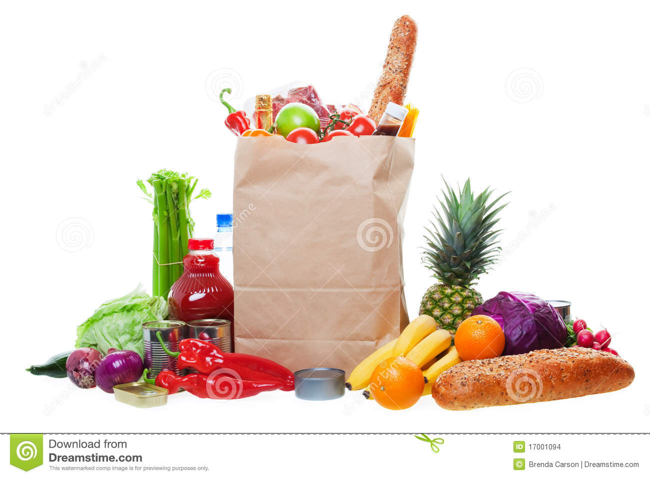 Lots of Groceries
