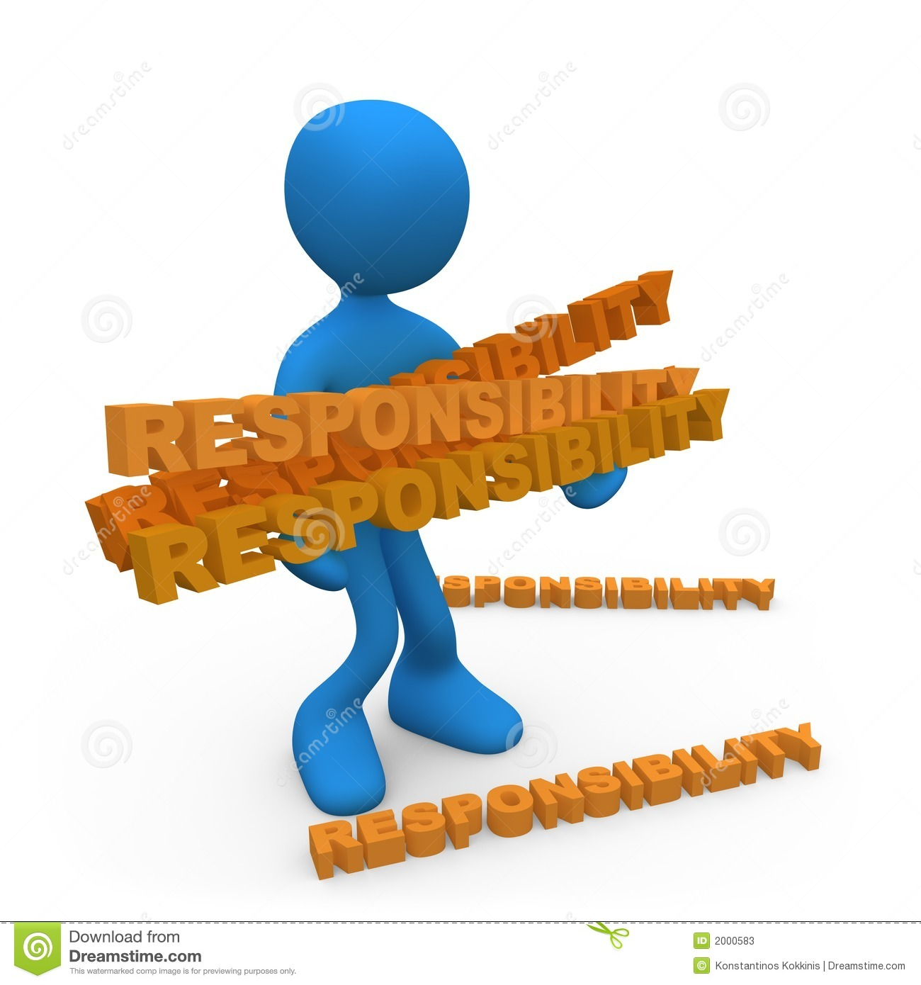 Lots Of Responsibilities Stock Photos - Image: 2000583
