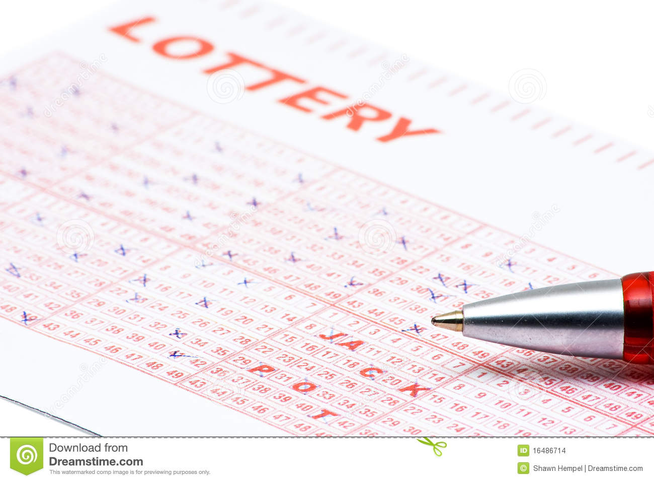 how to get lottery numbers in dream