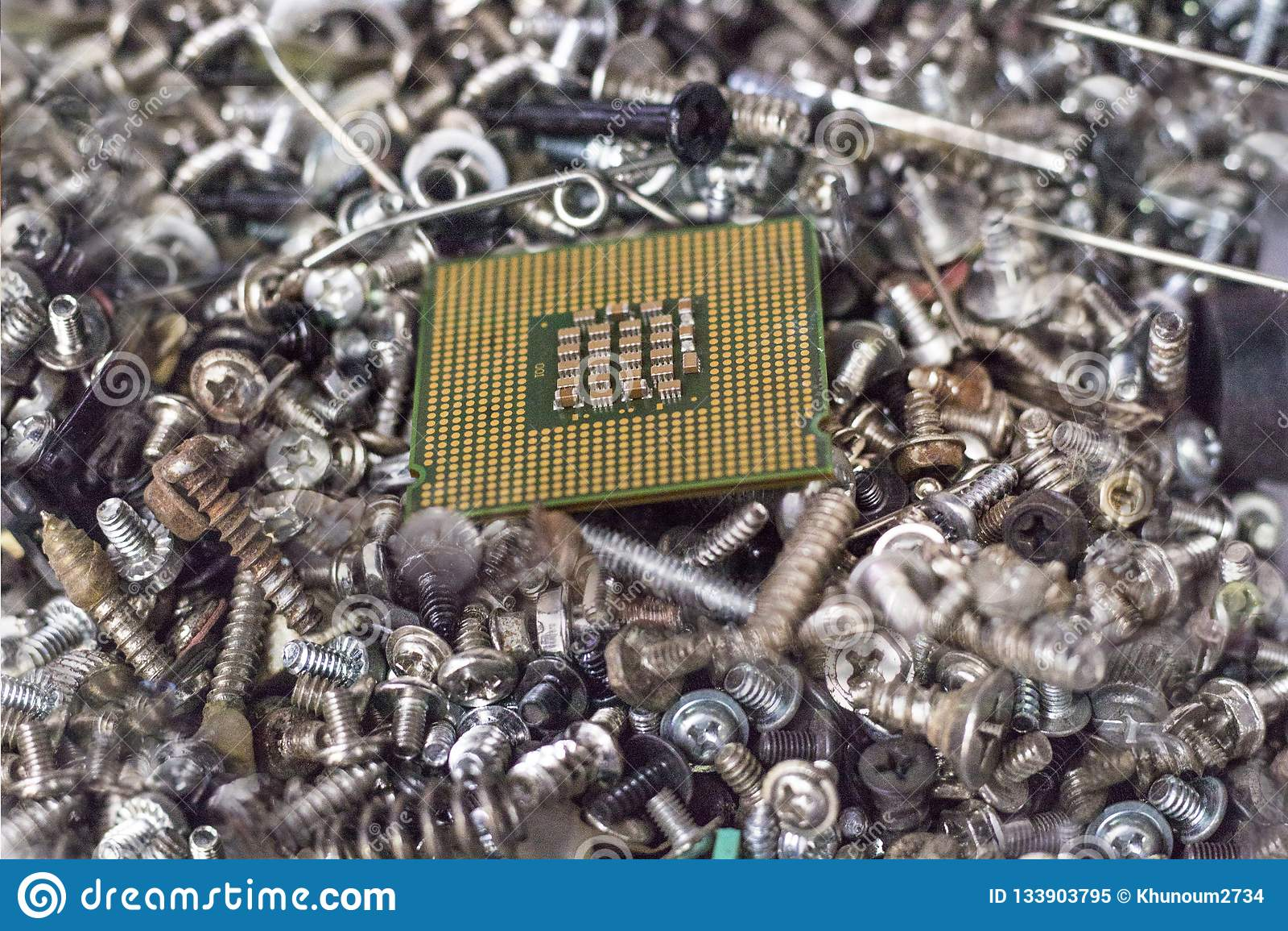Lotto dei giunti della vite Viene con il CPU elaborare il dispositivo