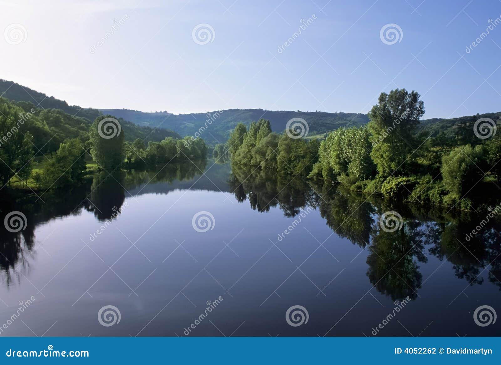 Lotto del fiume della Francia Midi pyrenees
